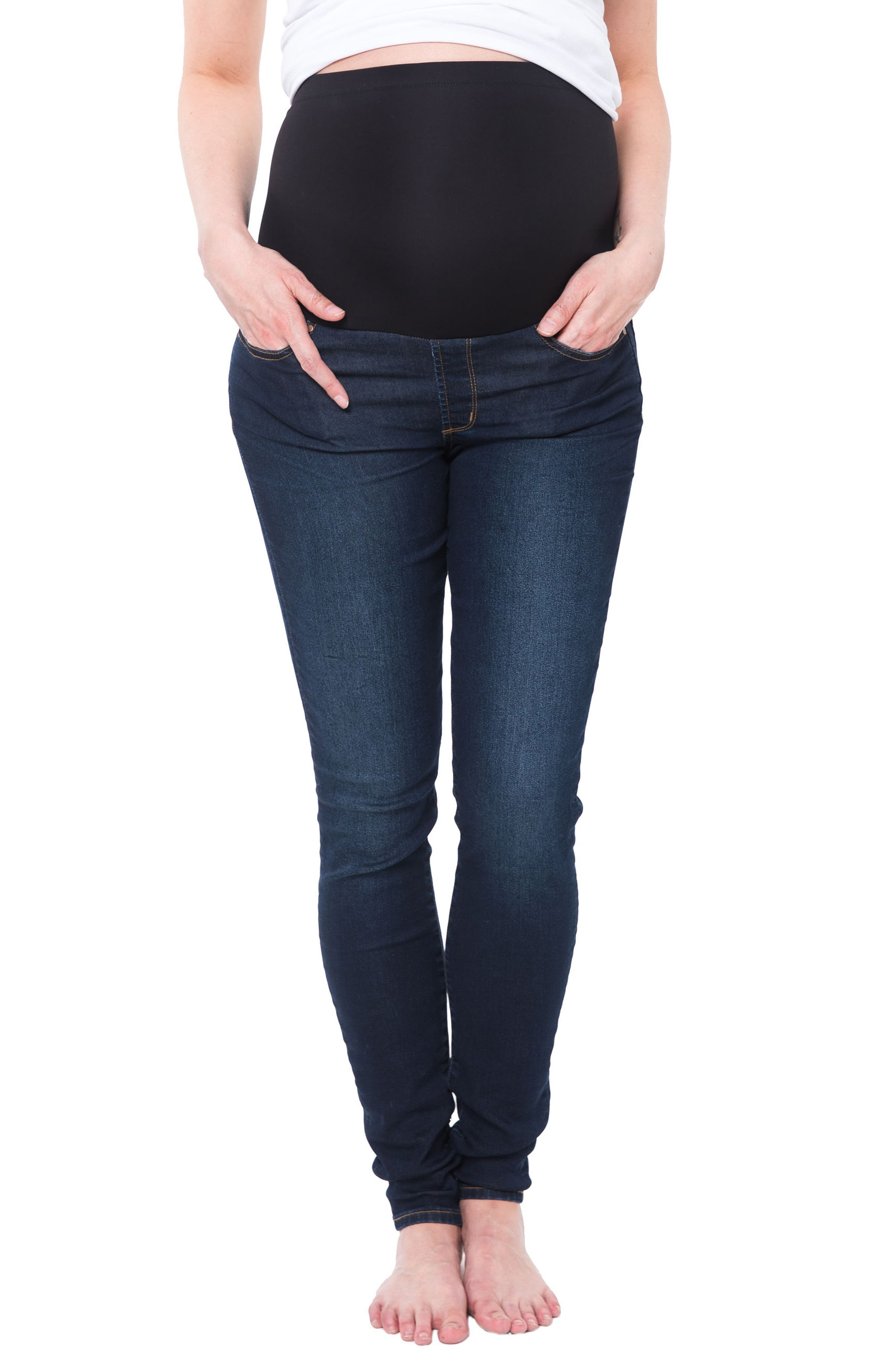 Women's Nom Maternity Soho Over The Belly Skinny Maternity Jeans