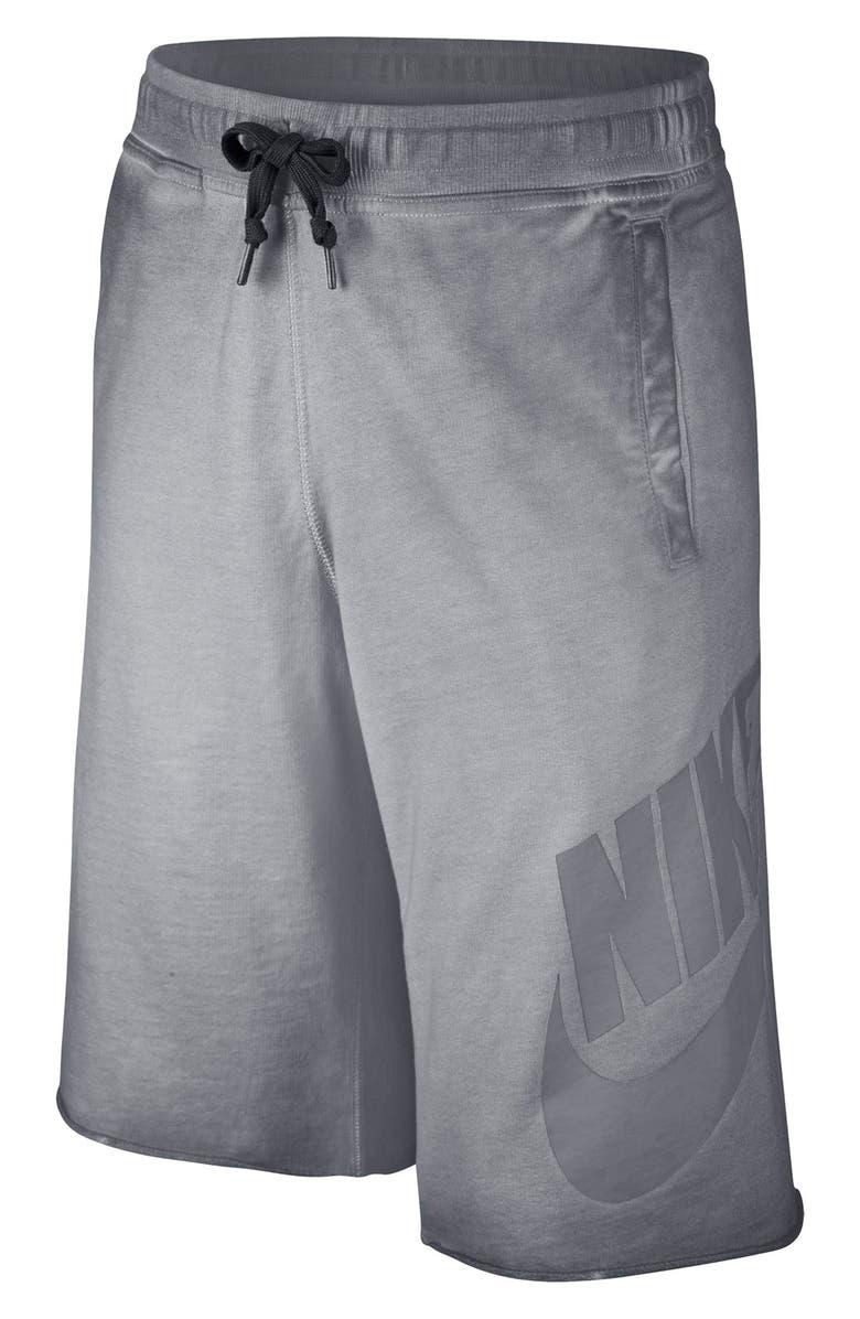 b18a2ec60 Nike 'Alumni' French Terry Knit Shorts (Little Boys & Big Boys ...