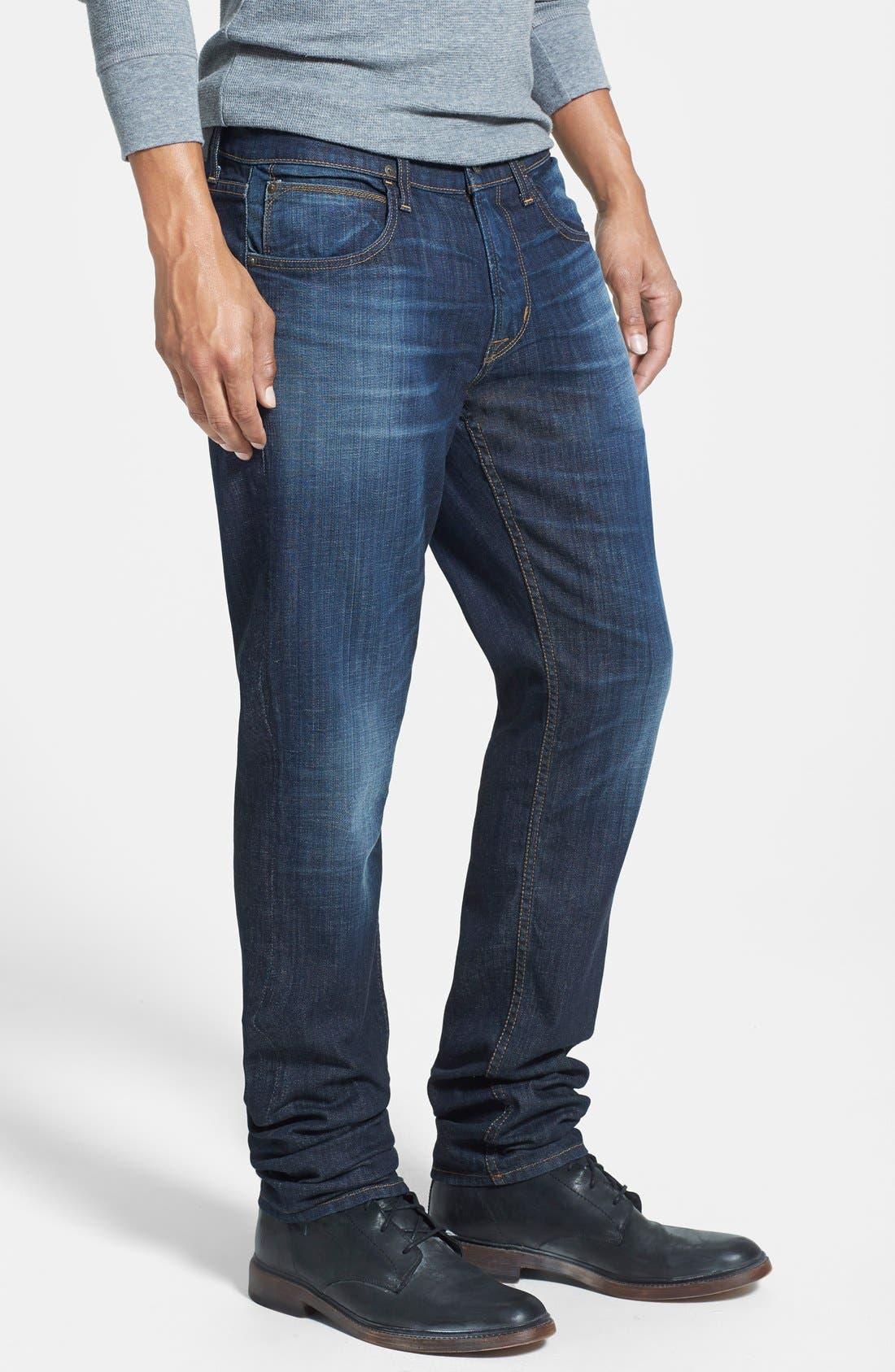 HUDSON JEANS, 'Blake' Slim Fit Jeans, Alternate thumbnail 4, color, 409