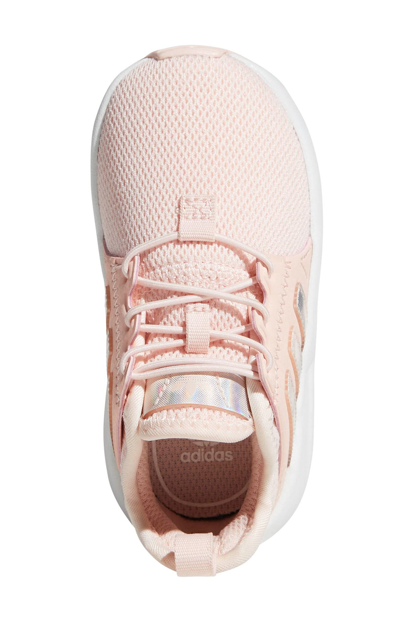 ADIDAS, X_PLR Sneaker, Alternate thumbnail 4, color, ICE PINK/ WHITE