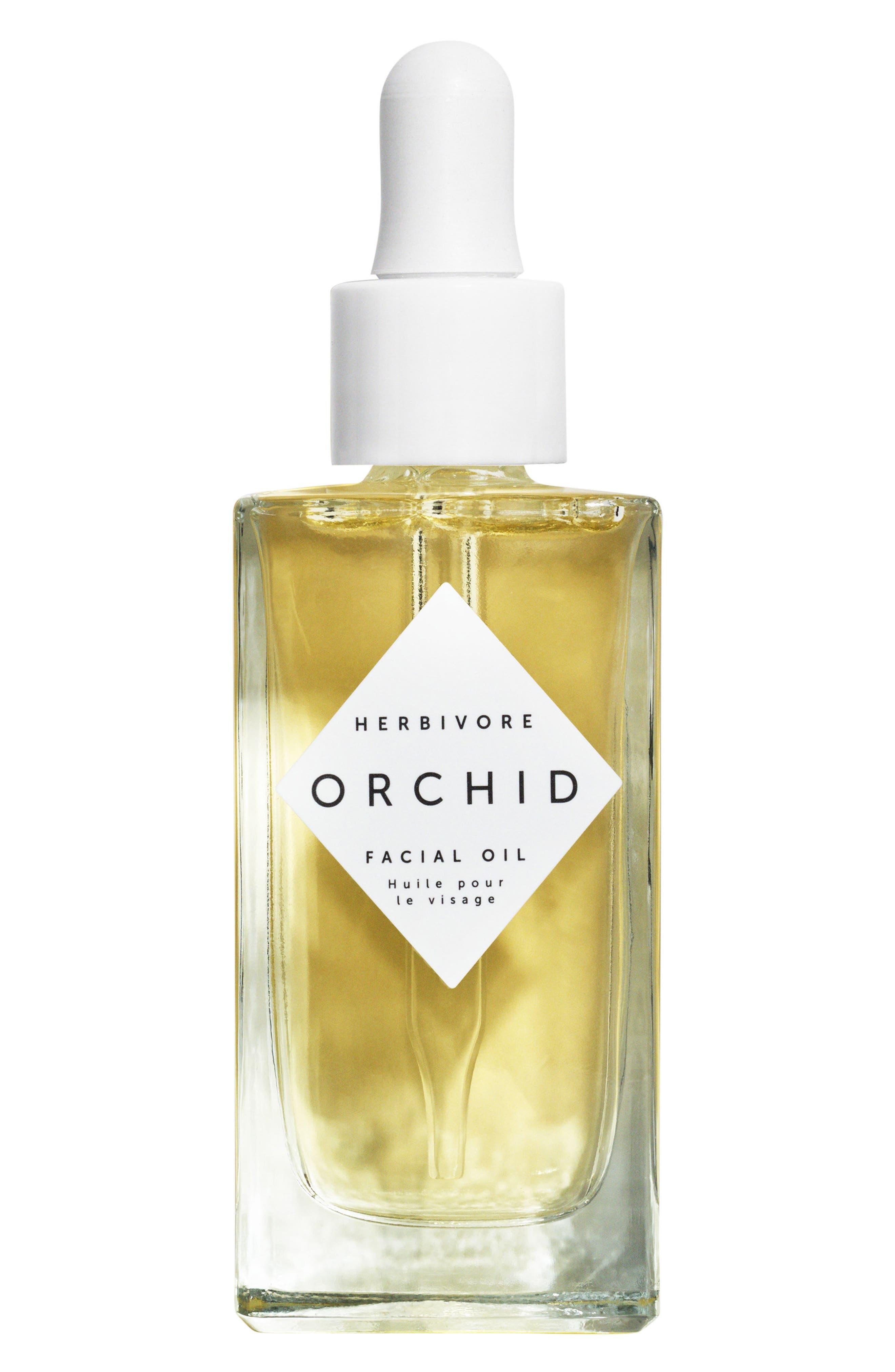 HERBIVORE BOTANICALS, Orchid Facial Oil, Main thumbnail 1, color, NO COLOR