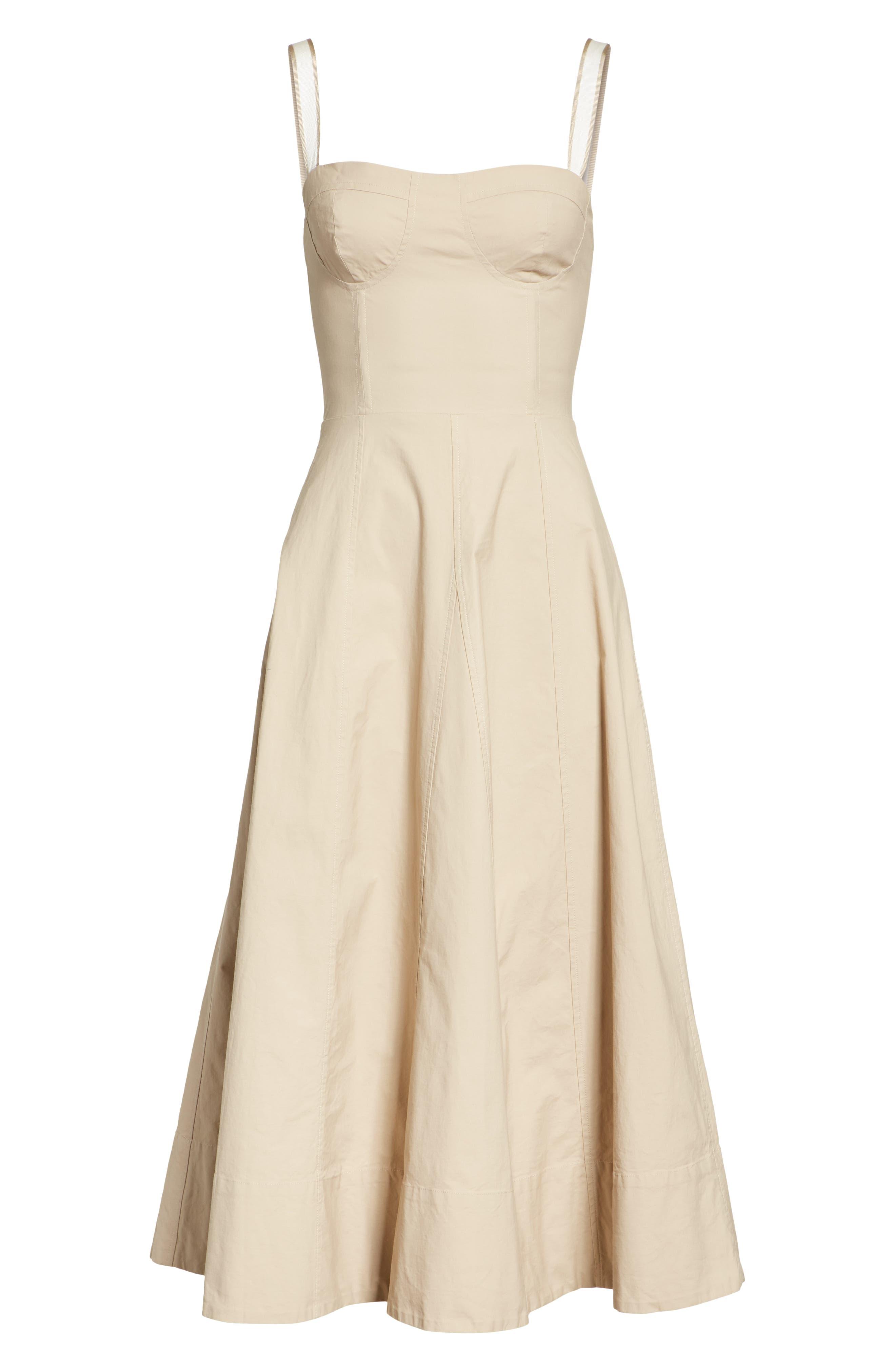 JOIE, Briel Midi Dress, Alternate thumbnail 6, color, 253