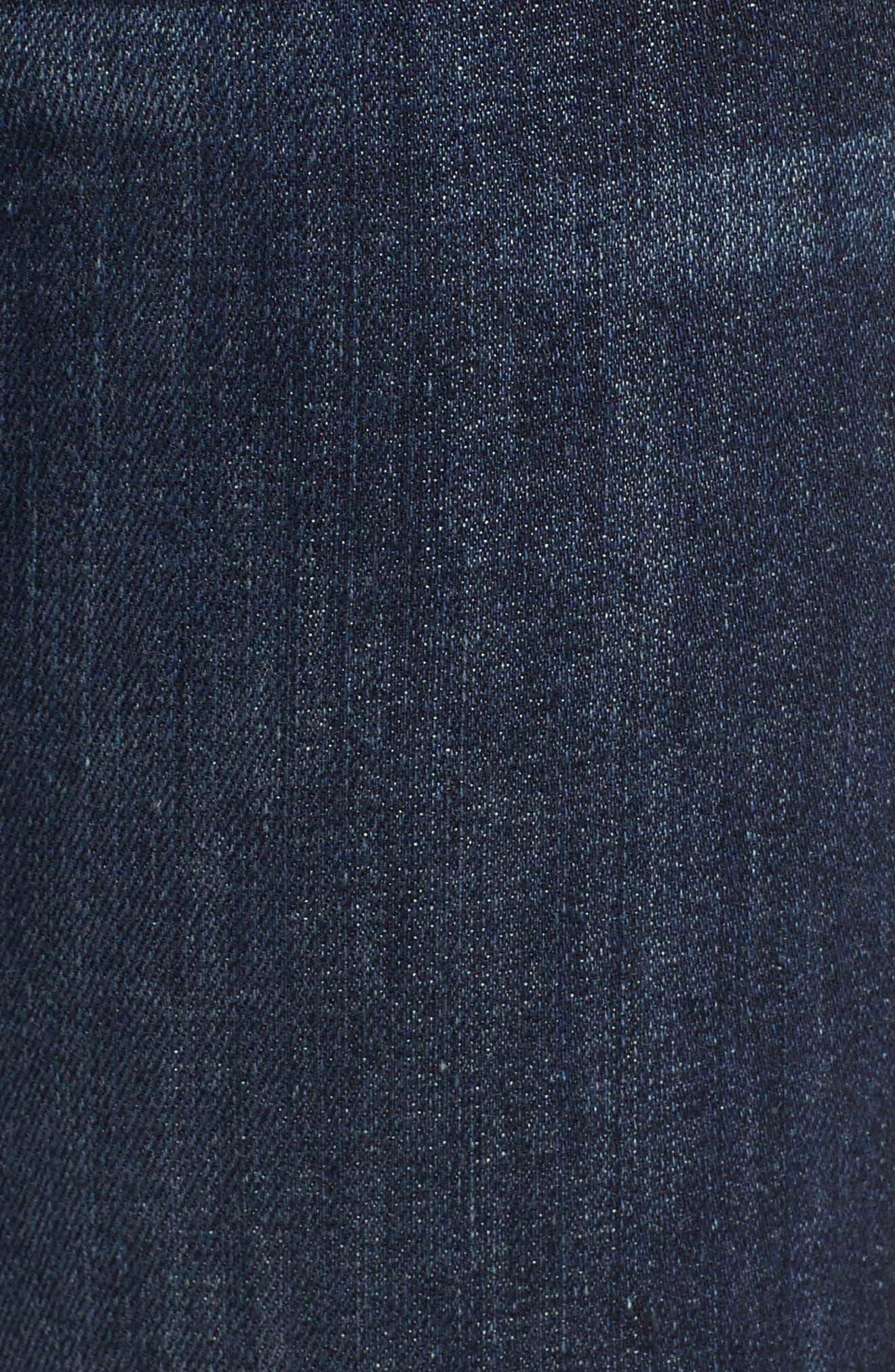 FRAME, Le Skinny de Jeanne Jeans, Alternate thumbnail 6, color, QUEENSWAY