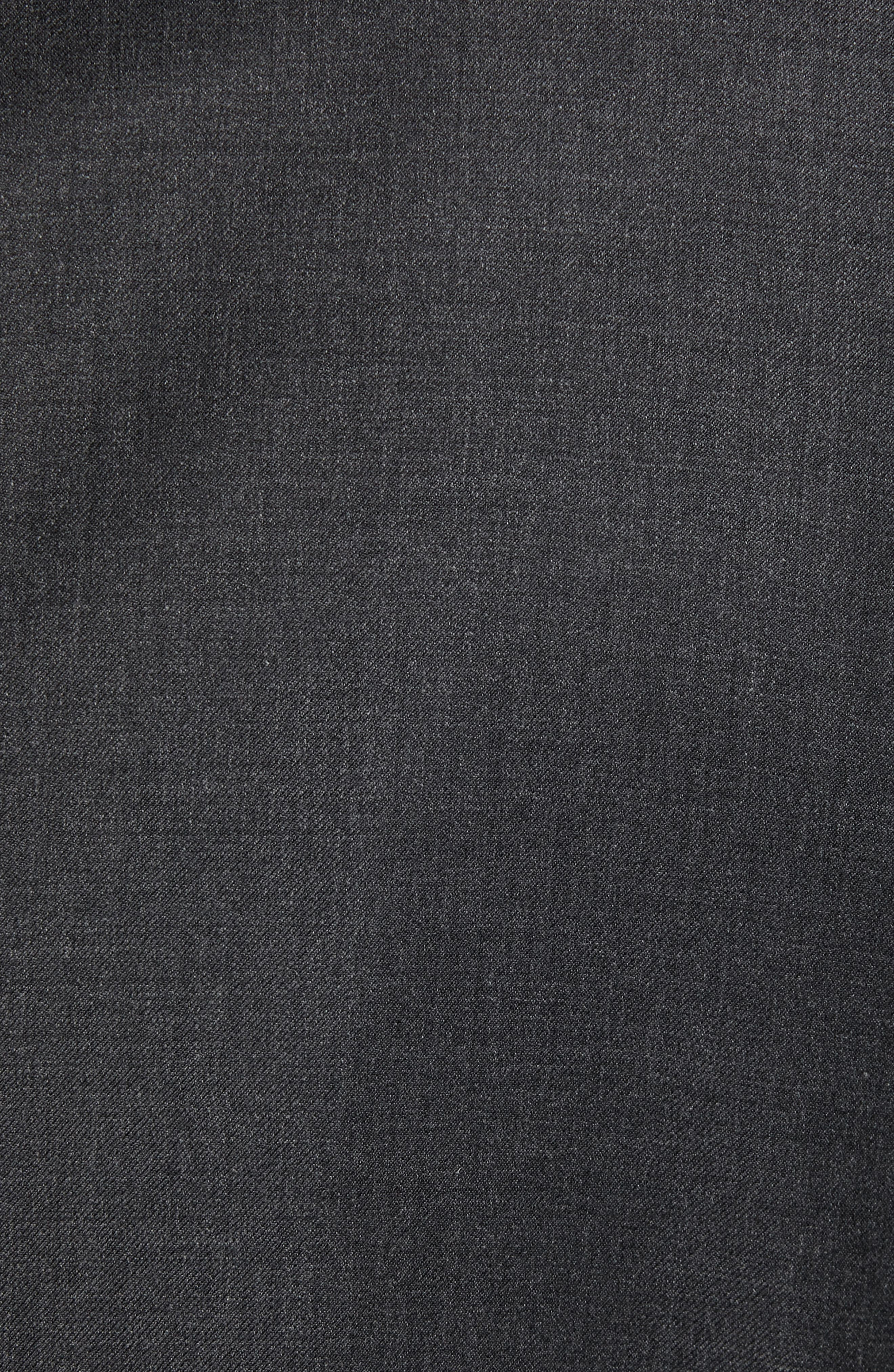 PETER MILLAR, Classic Fit Wool Suit, Alternate thumbnail 7, color, CHARCOAL