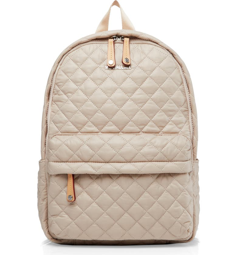 Mz Wallace Backpacks CITY BACKPACK - IVORY