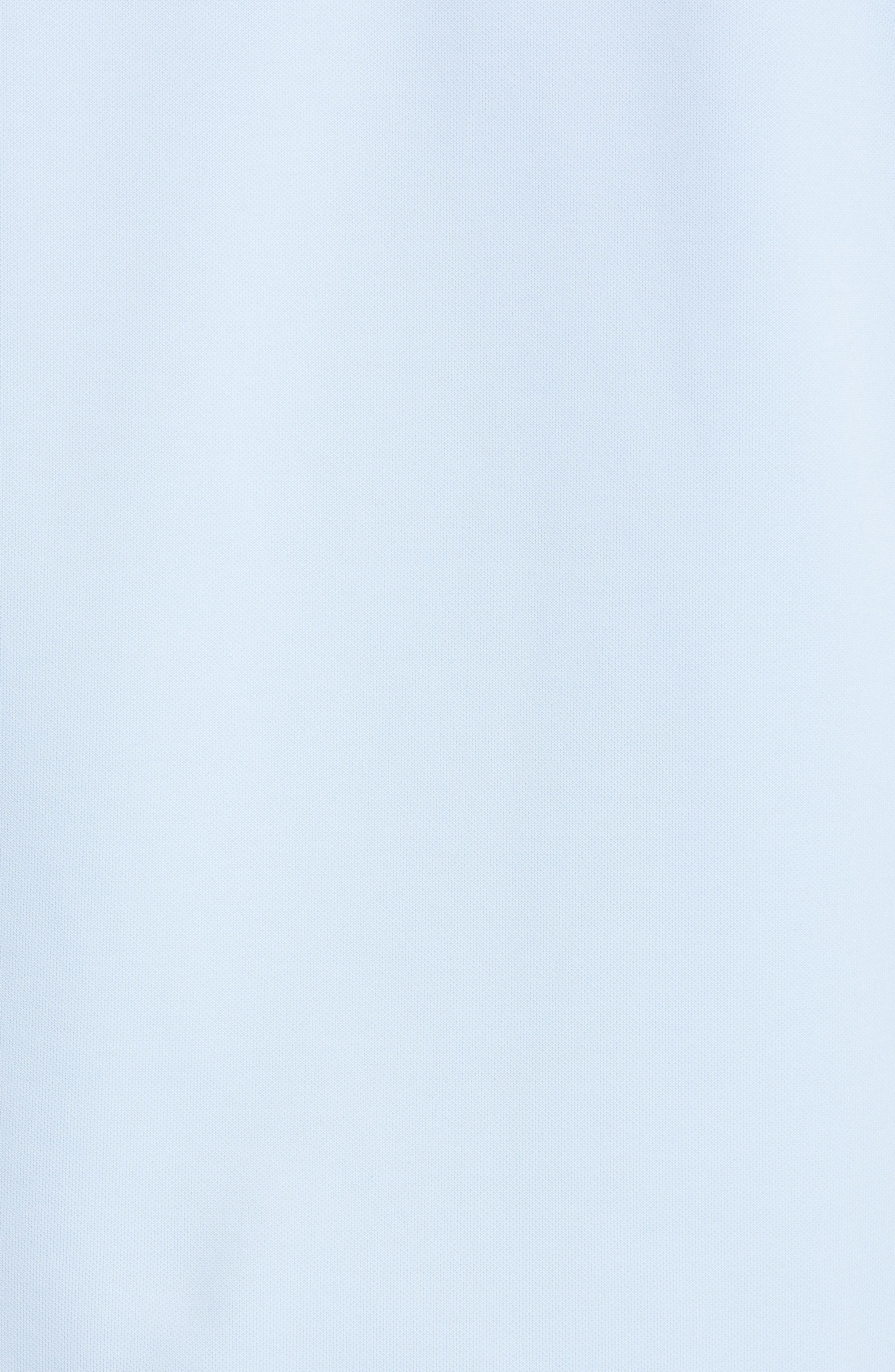 HELMUT LANG, Fishtail Hoodie, Alternate thumbnail 5, color, SKY