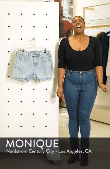 JEAN Cutoff Boyfriend Shorts, sales video thumbnail