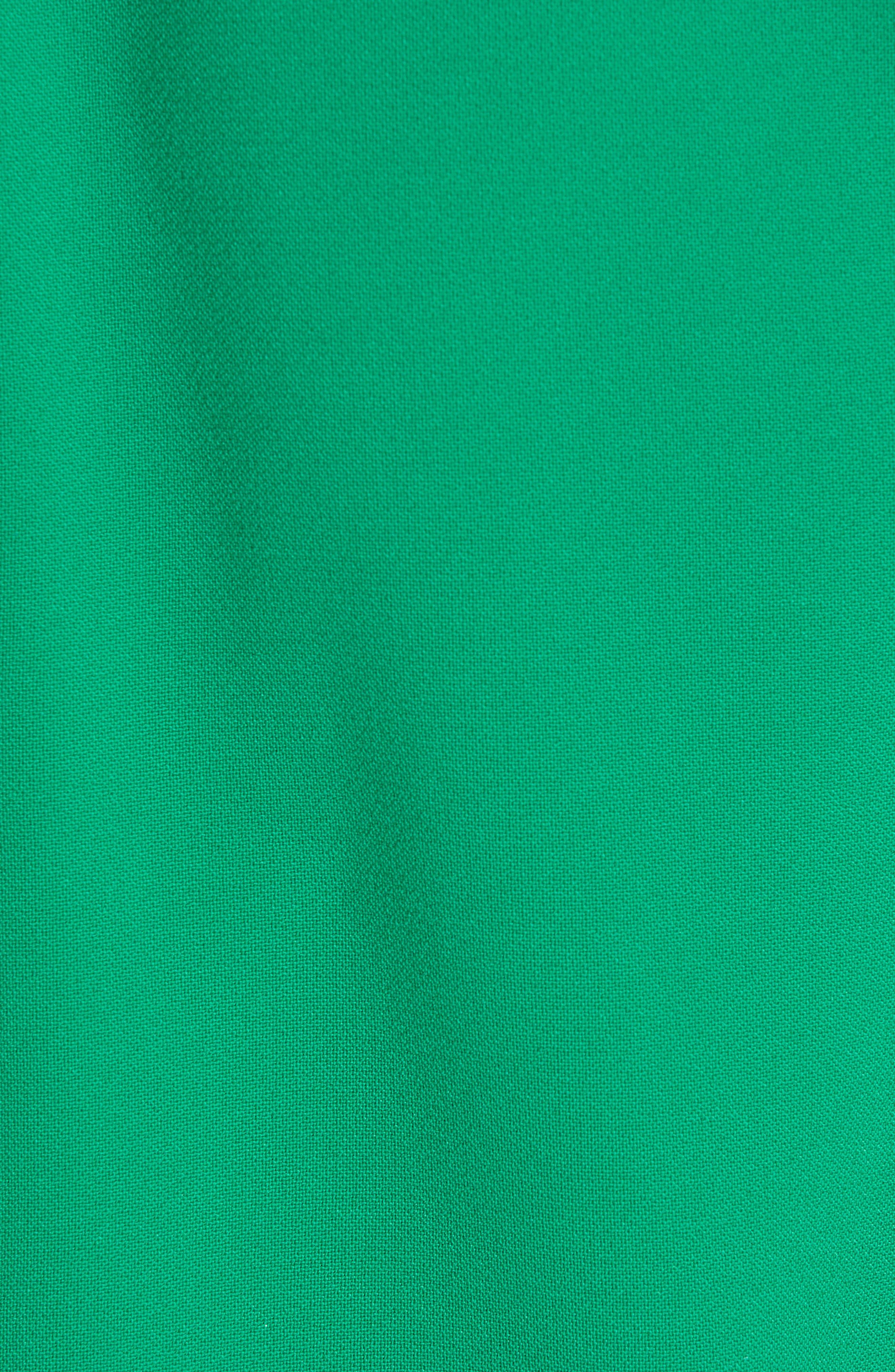SACHIN & BABI, Tower Beaded Cuff Column Evening Dress, Alternate thumbnail 6, color, TOWER GREEN