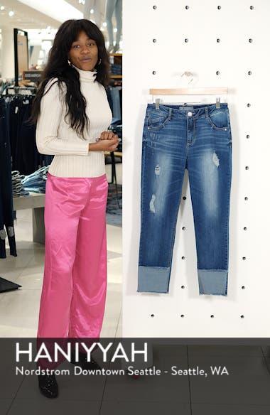 Flex-ellent Distressed Straight Leg Jeans, sales video thumbnail