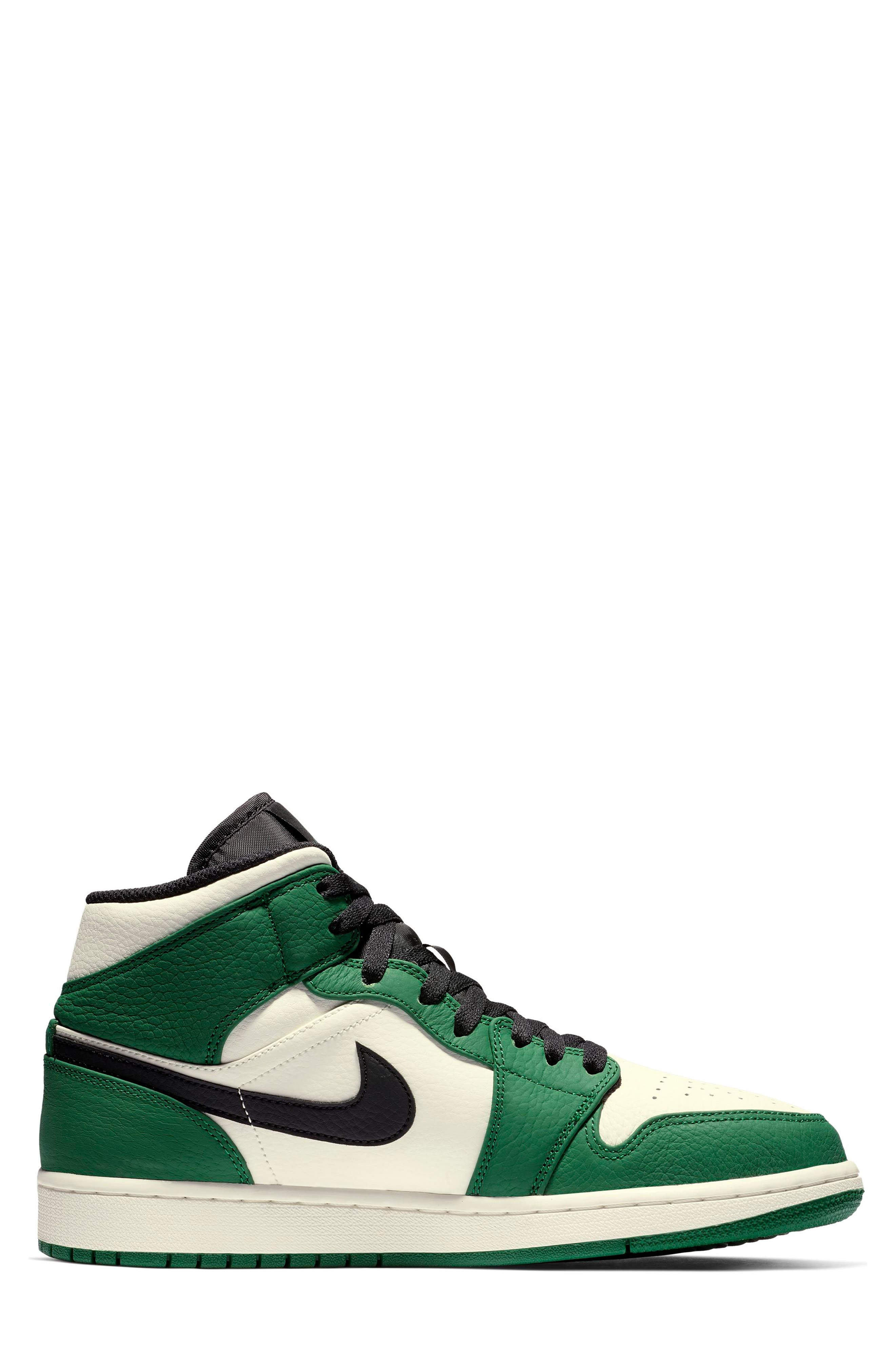 NIKE, Air Jordan 1 Mid Winterized Sneaker, Alternate thumbnail 2, color, 301