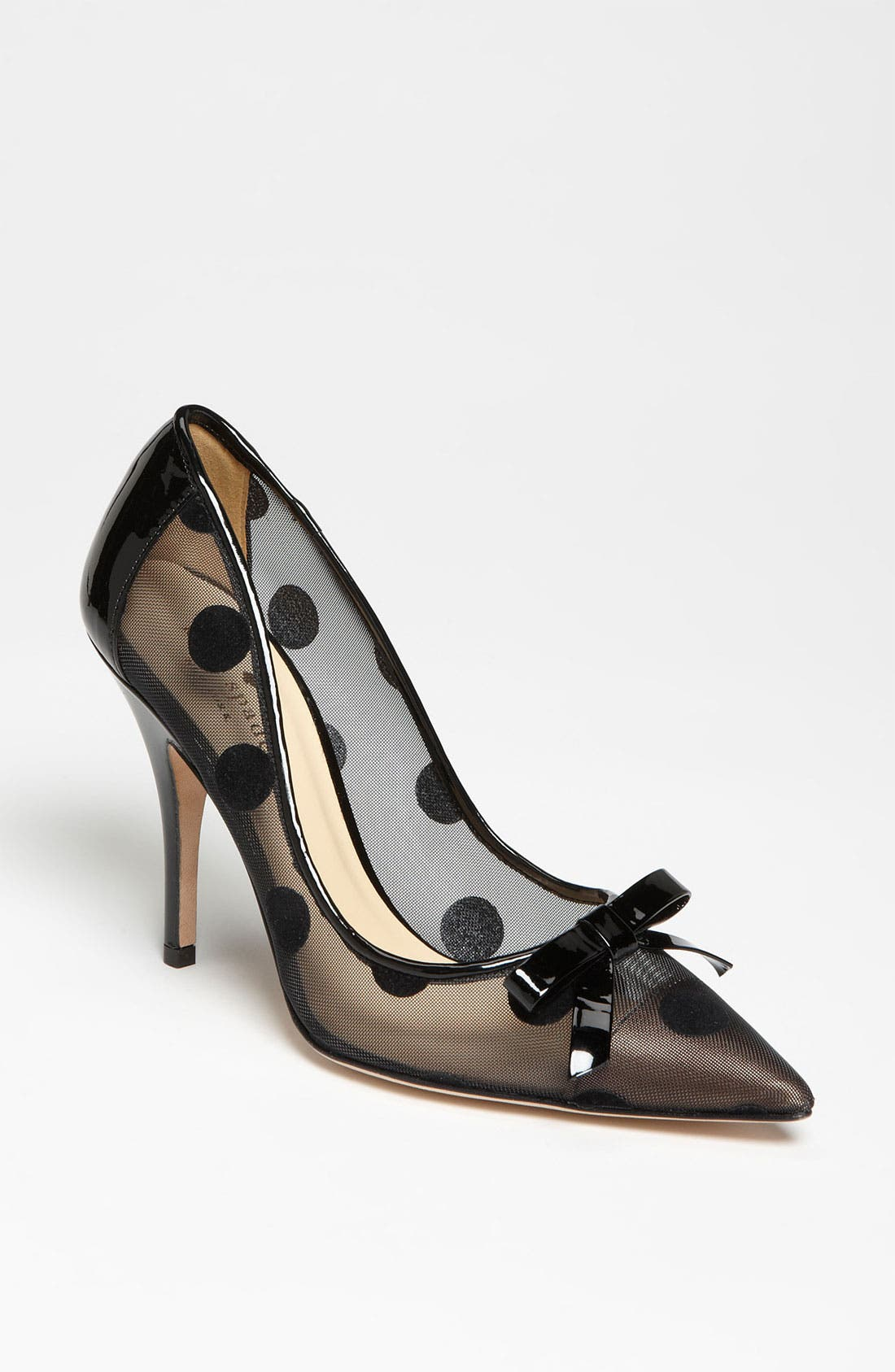 KATE SPADE NEW YORK, 'lisa' pump, Main thumbnail 1, color, 001