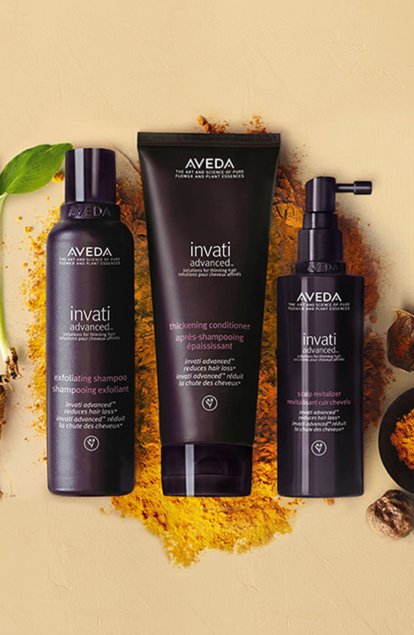 AVEDA, invati<sup>™</sup> Advanced Three-Step Kit, Alternate thumbnail 5, color, NO COLOR