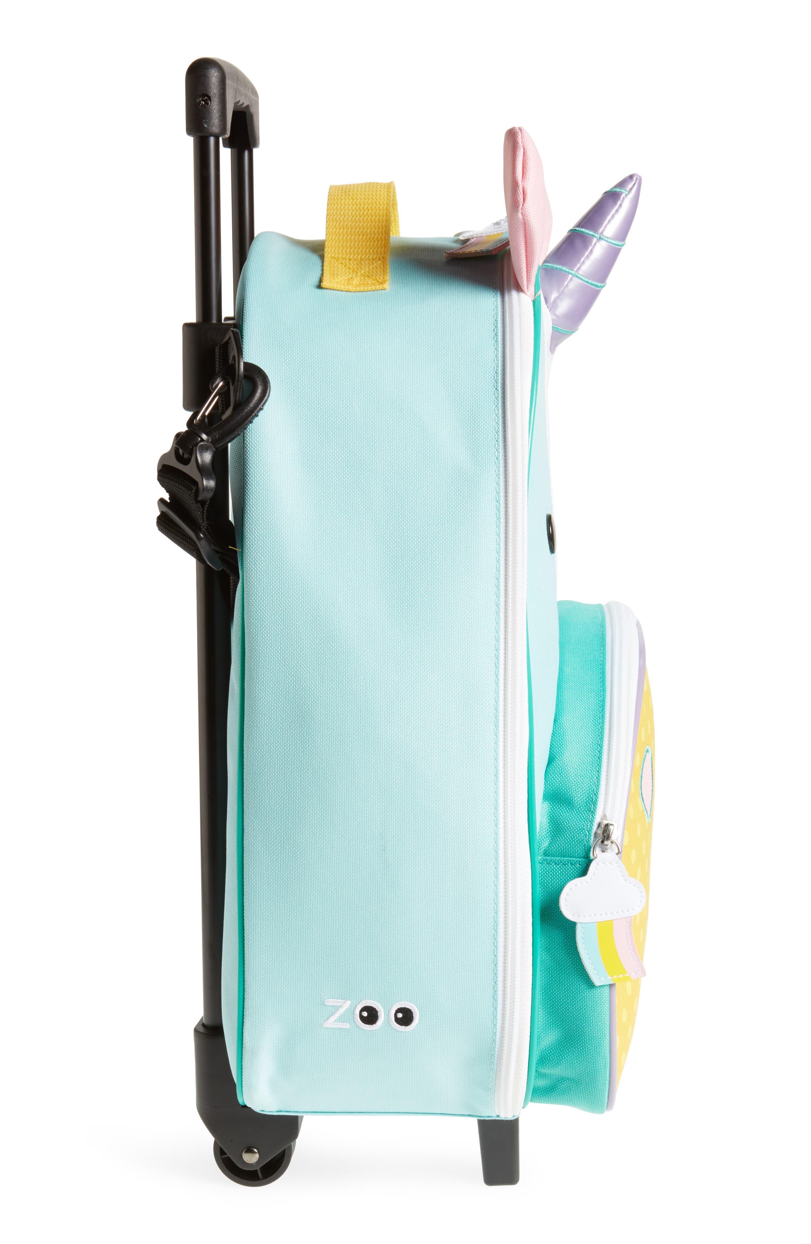 SKIP HOP, Rolling Luggage, Alternate thumbnail 4, color, MULTI