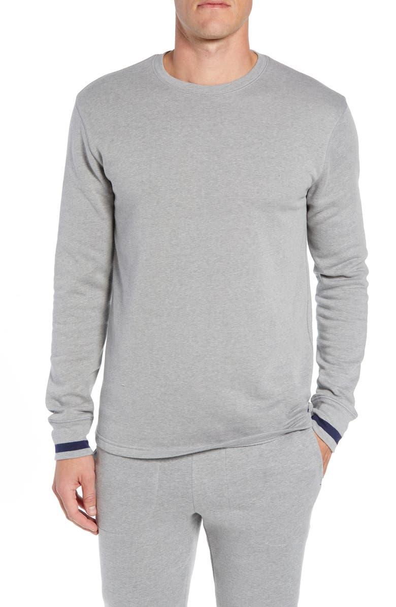 8378f7074987f Polo Ralph Lauren Brushed Jersey Cotton Blend Crewneck Sweatshirt ...