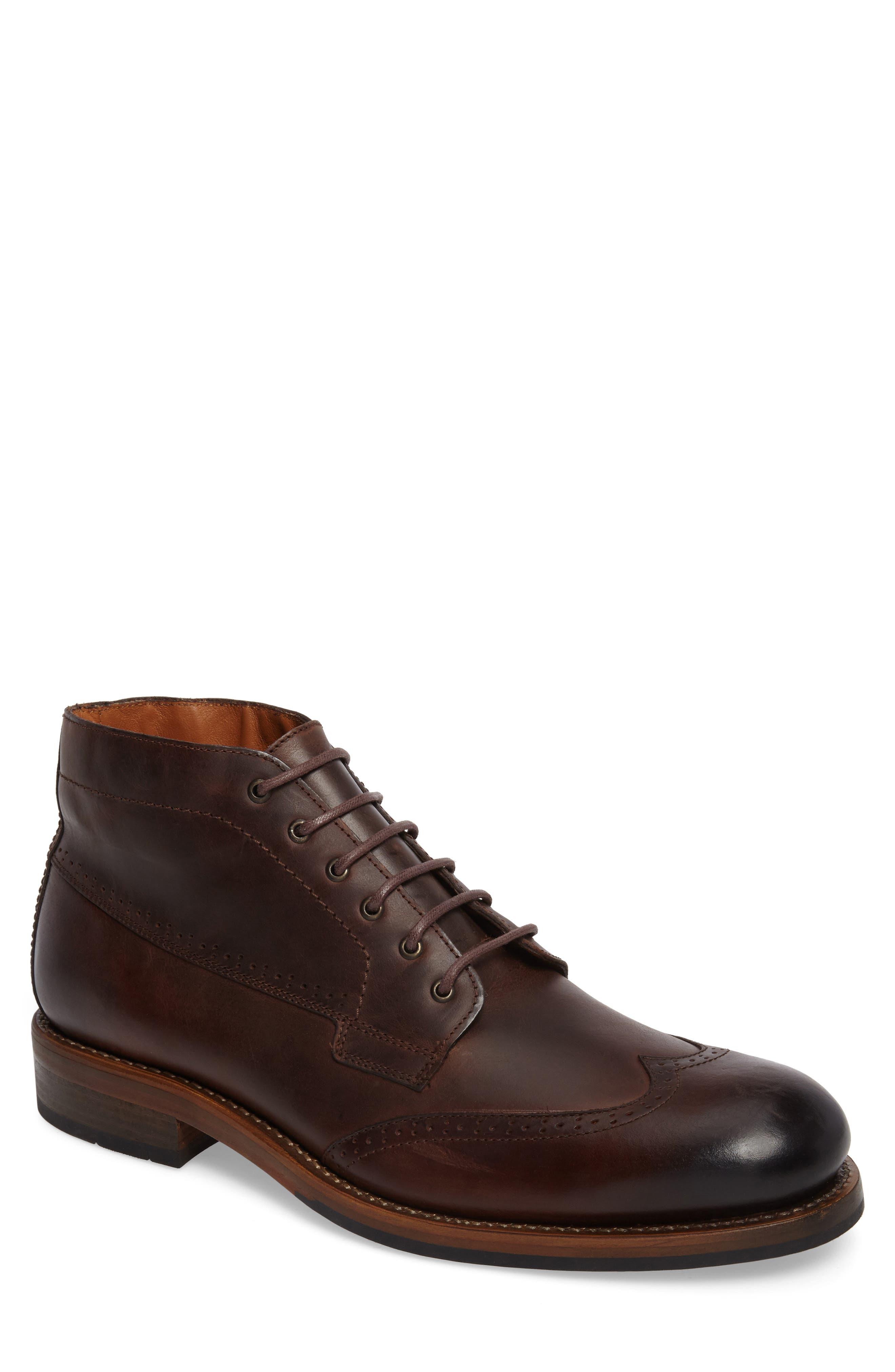Wolverine Harwell Wingtip Boot, Brown