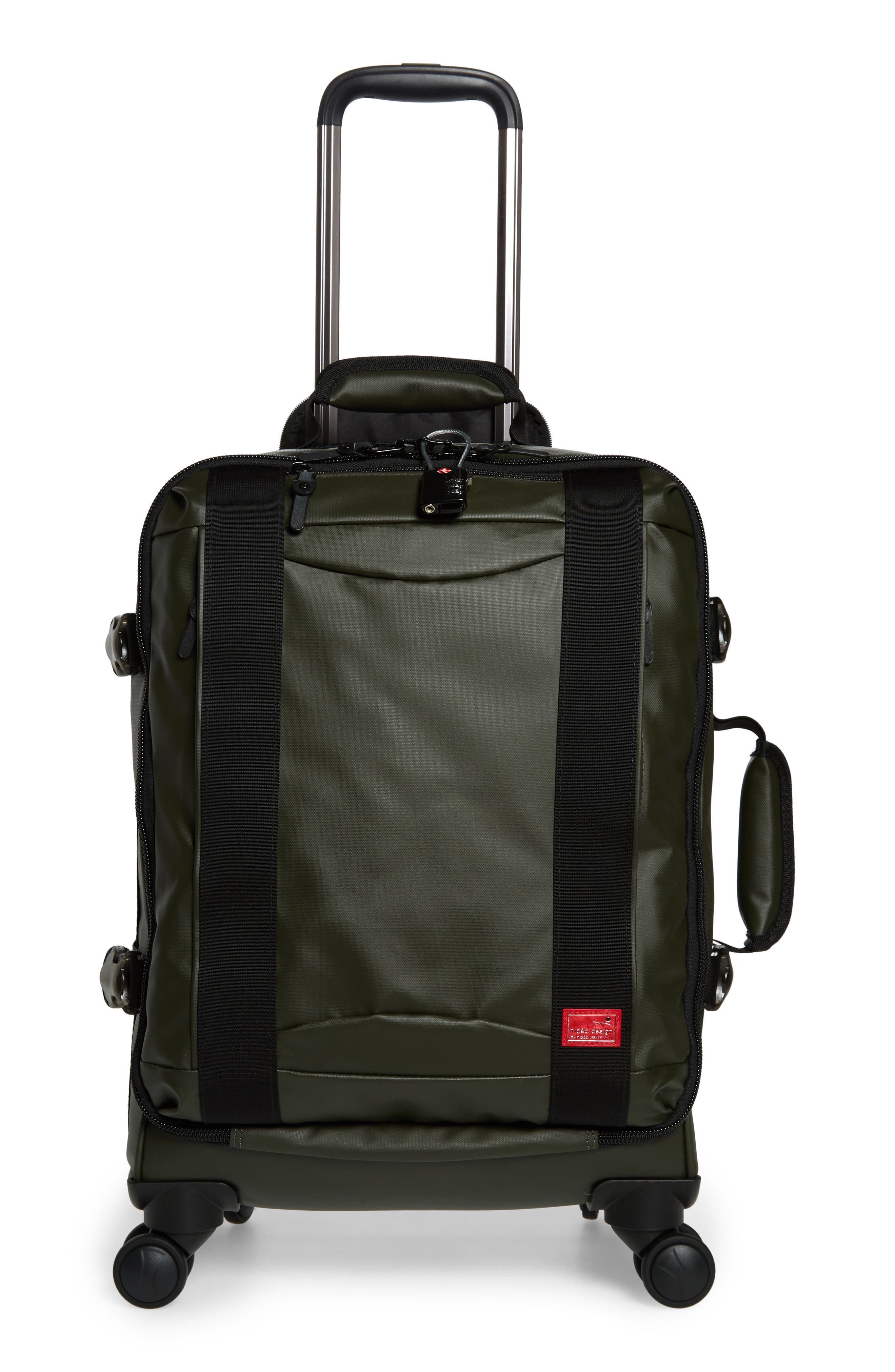 HIDEO WAKAMATSU Veil Carry-On, Main, color, ARMY GREEN