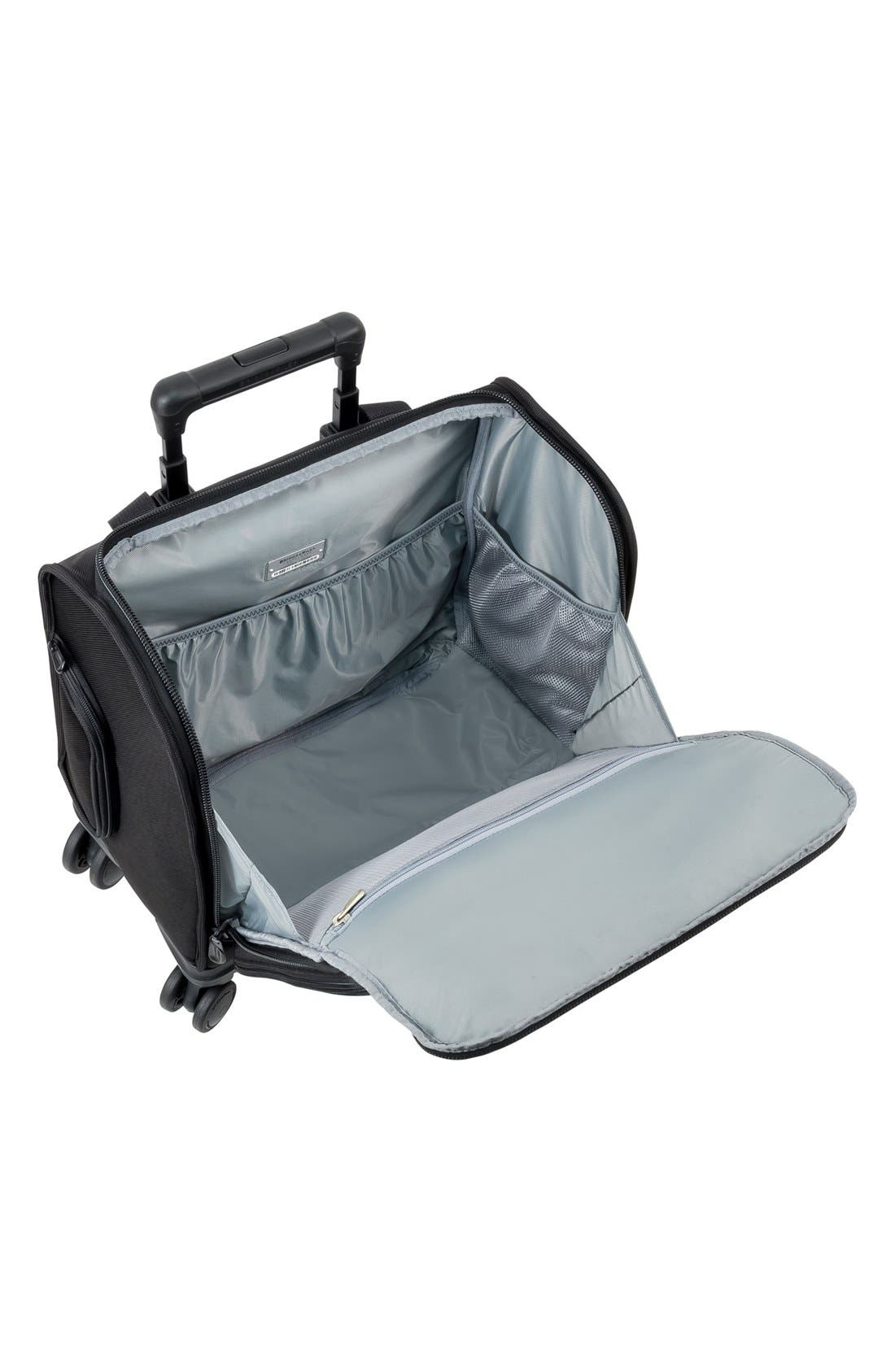 BRIGGS & RILEY, 'Cabin' Spinner Carry-On, Alternate thumbnail 2, color, BLACK