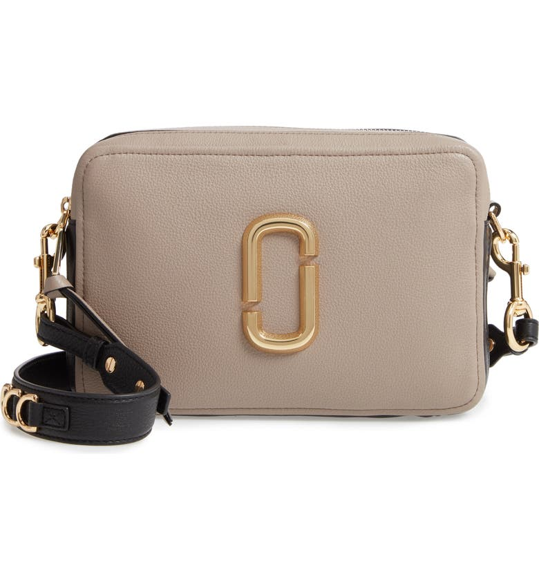 7214636a4abc Marc Jacobs The Softshot 27 Crossbody Bag - Brown In Cement Multi ...