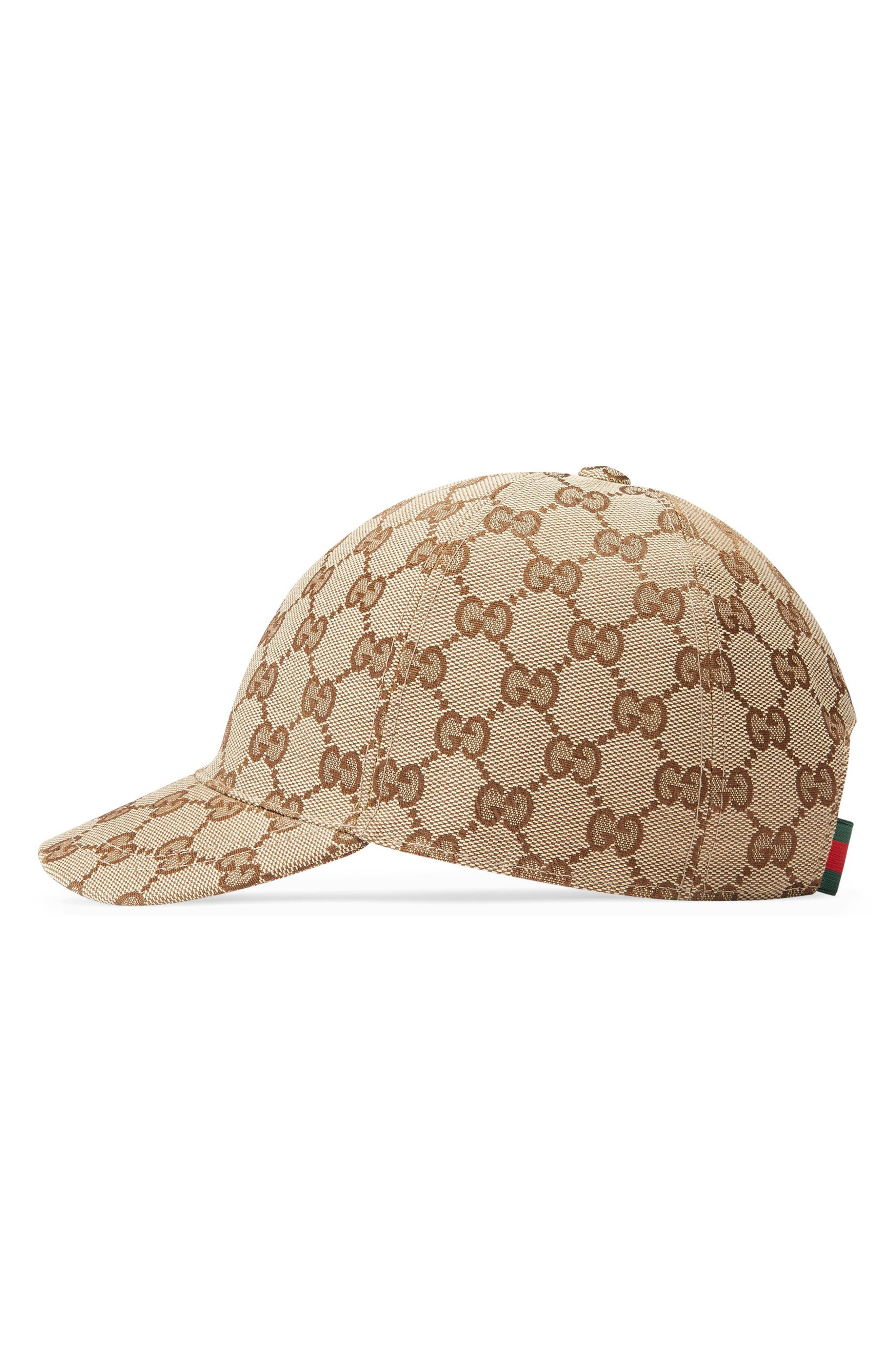 GUCCI, Logo Baseball Cap, Alternate thumbnail 2, color, 213