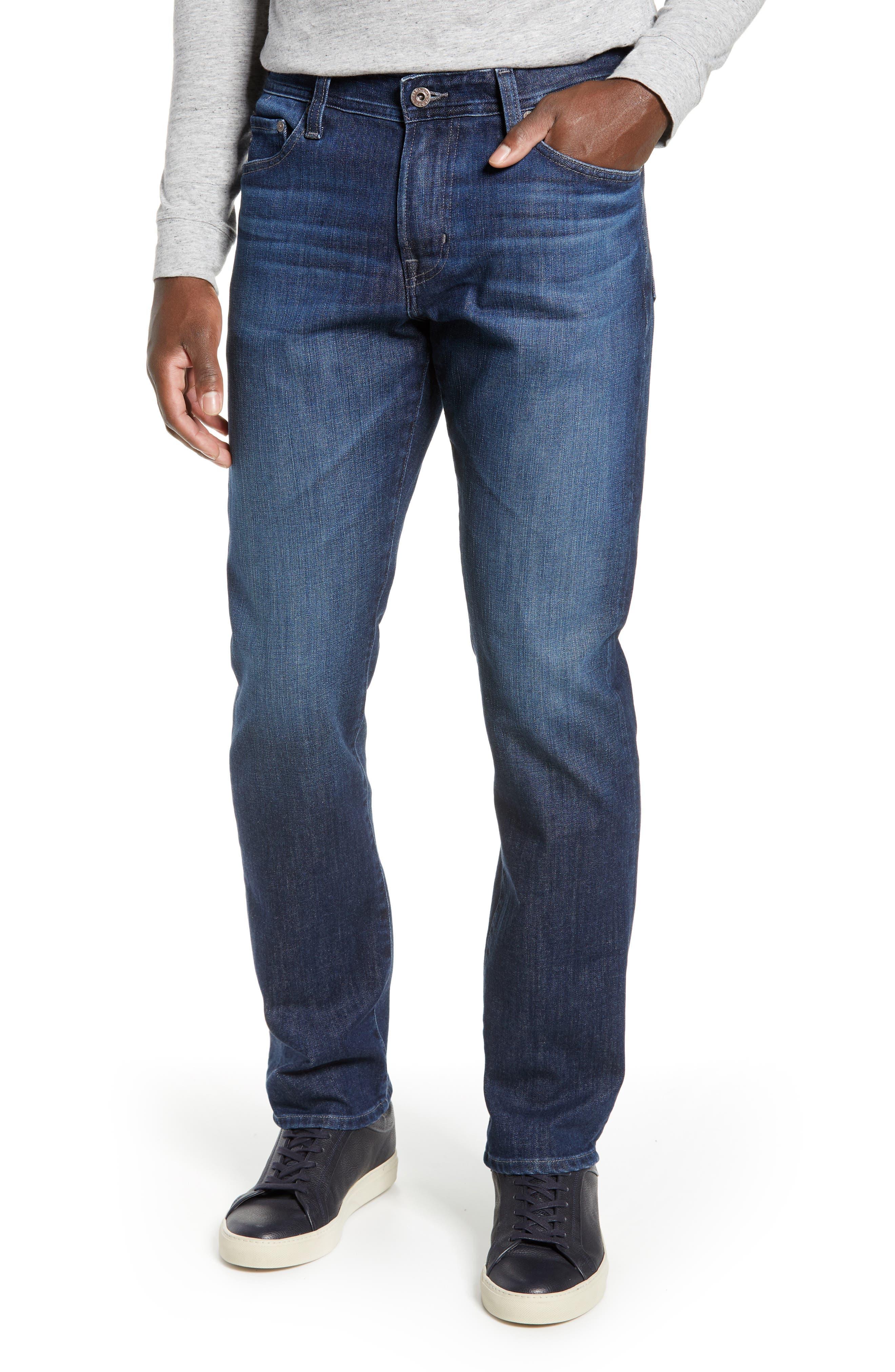 AG Everett Slim Straight Leg Jeans, Main, color, GAMMA