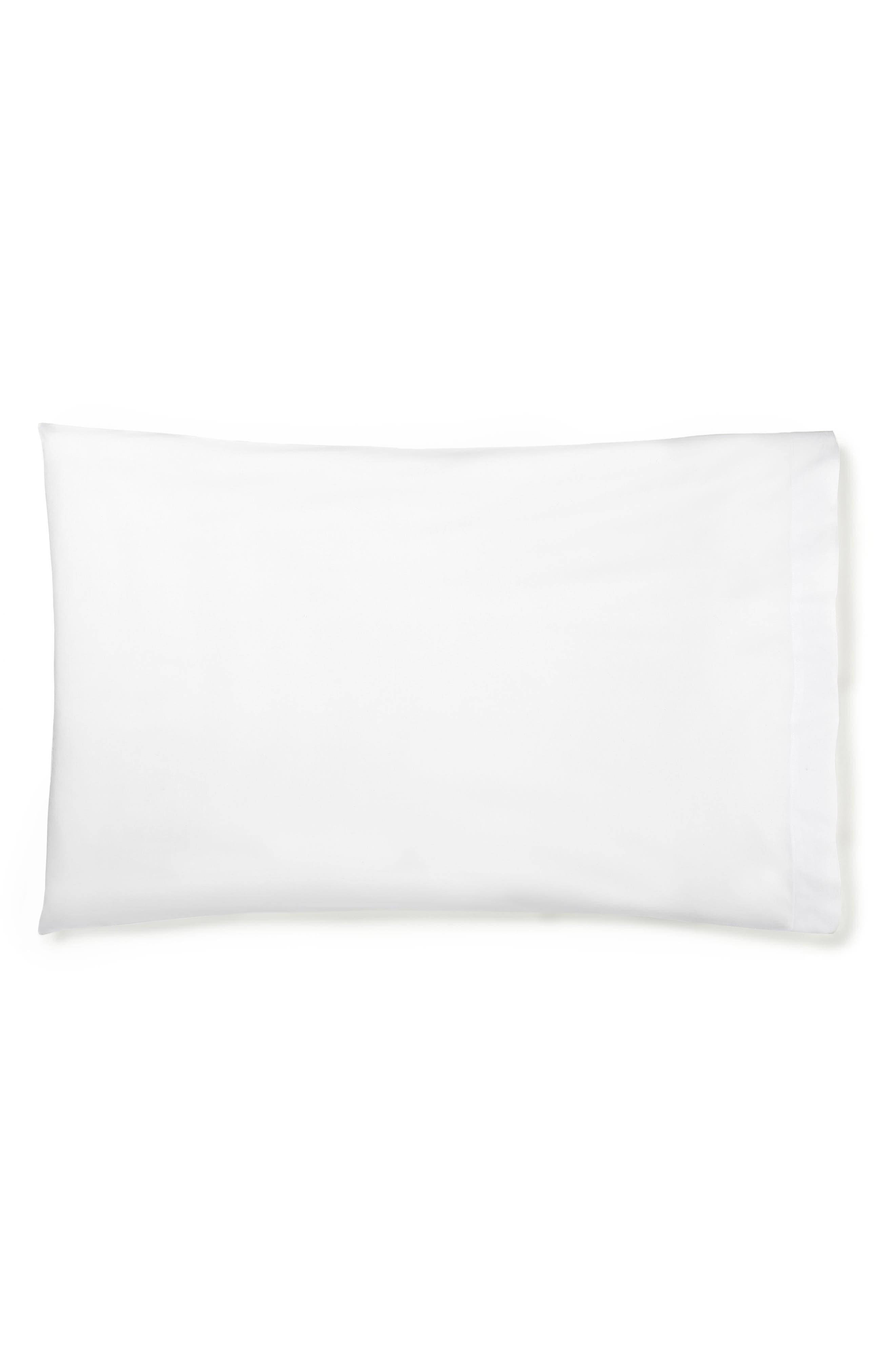SFERRA Memoria Pillowcases, Main, color, SNOW