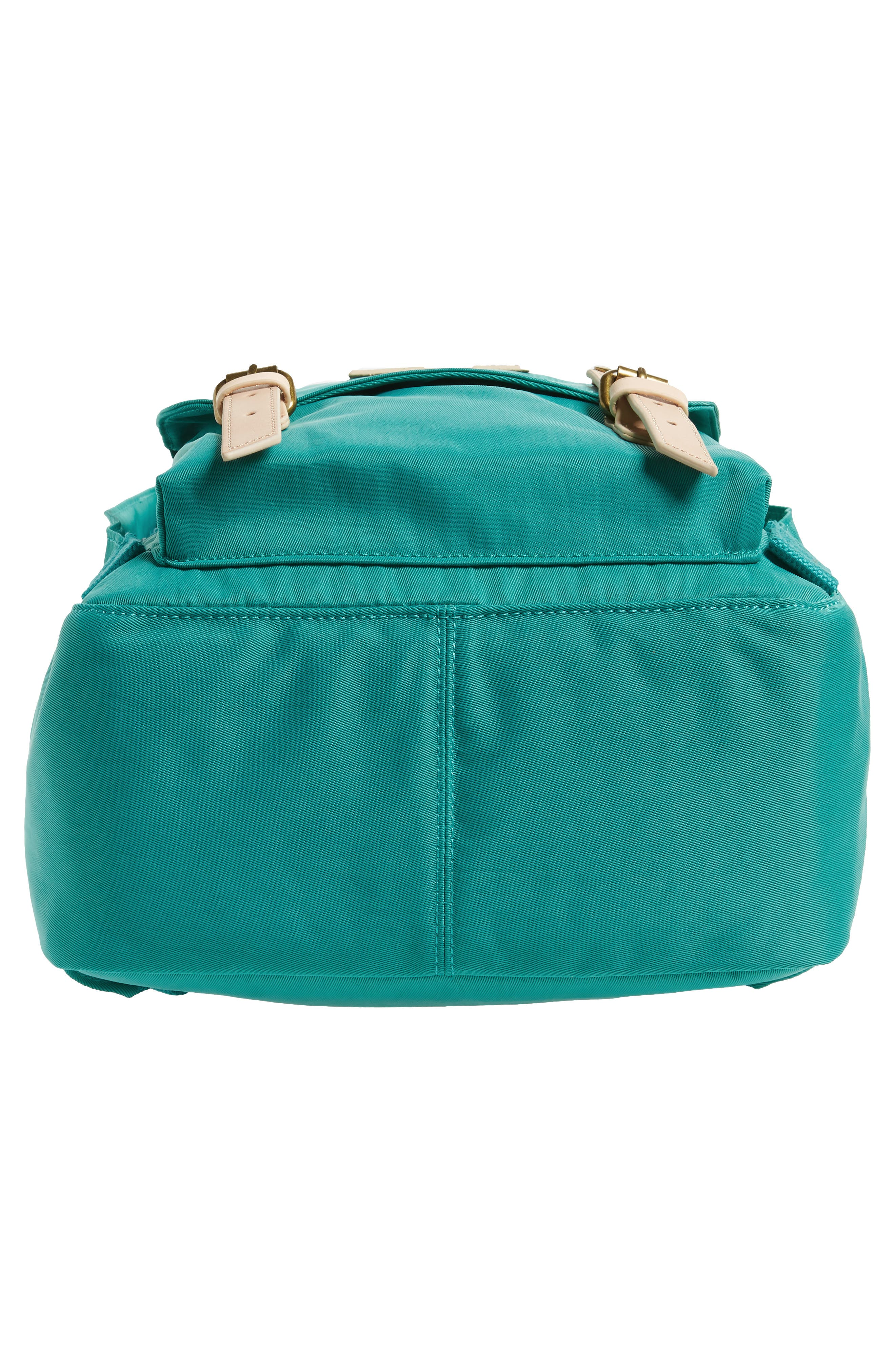 DOUGHNUT, Macaroon Water Resistant Backpack, Alternate thumbnail 6, color, MINT