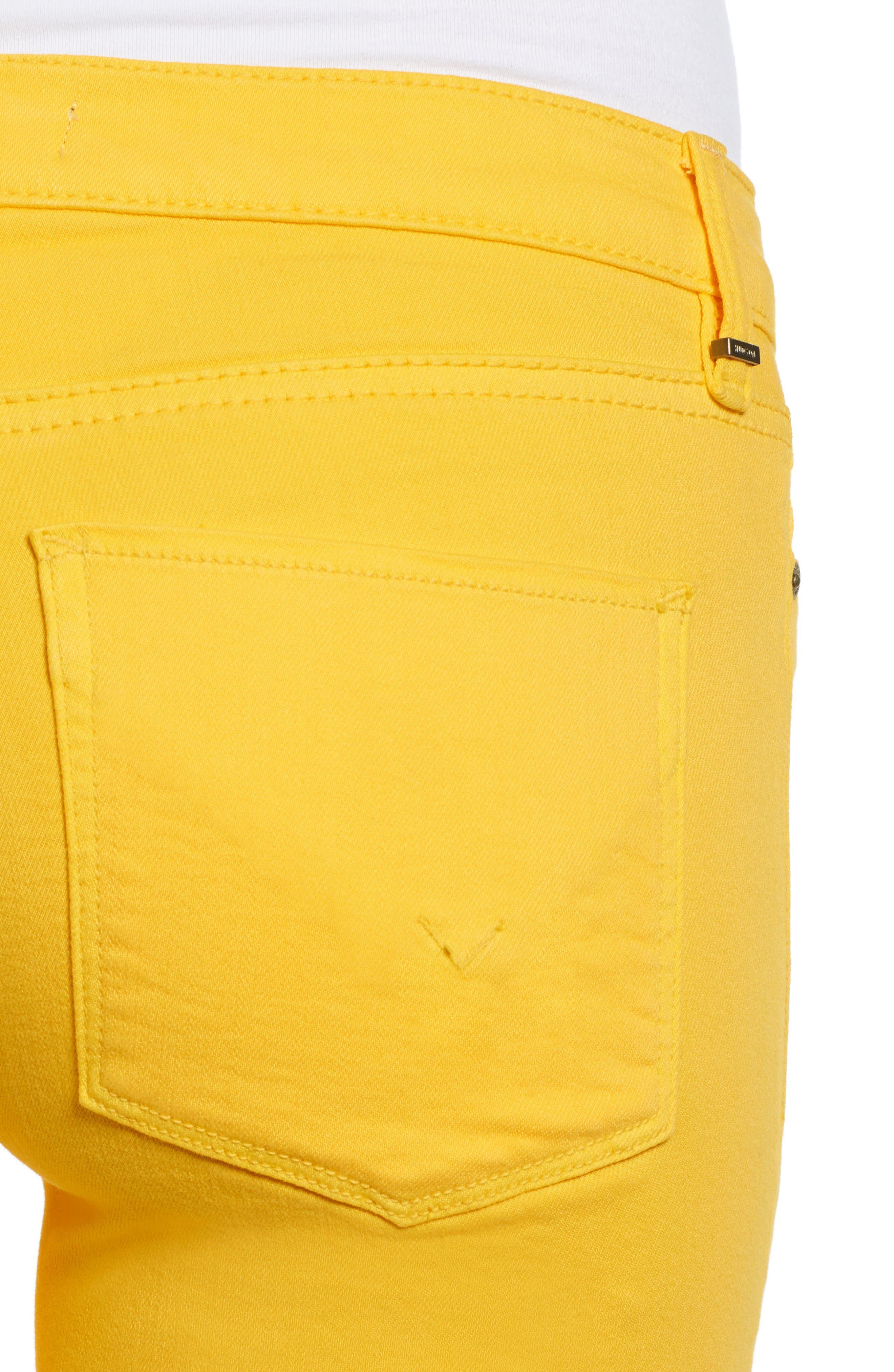 HUDSON JEANS, Hudson Ankle Straight Leg Jeans, Alternate thumbnail 5, color, STARBURST