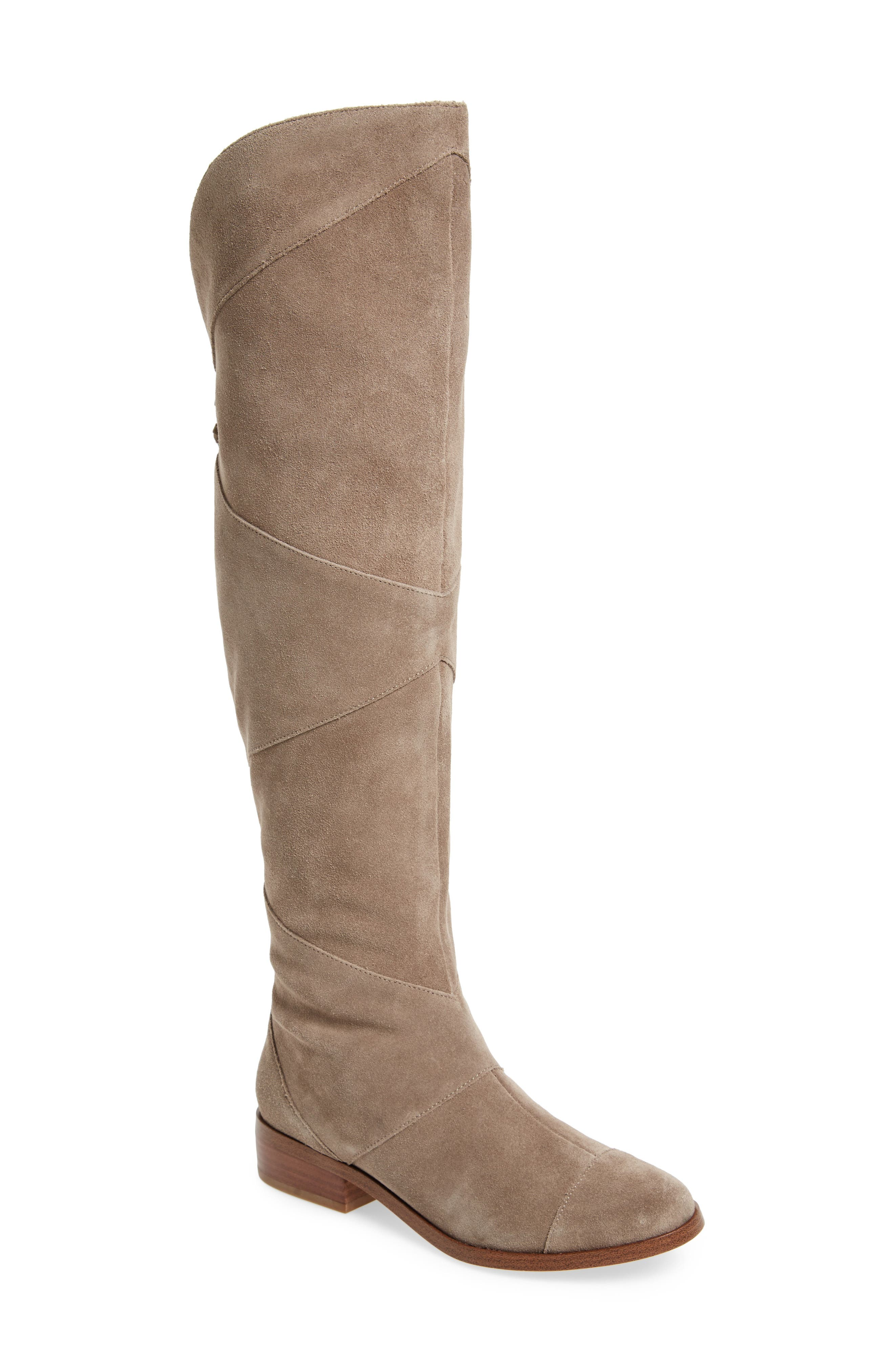 Sole Society Tiff Over The Knee Boot- Grey