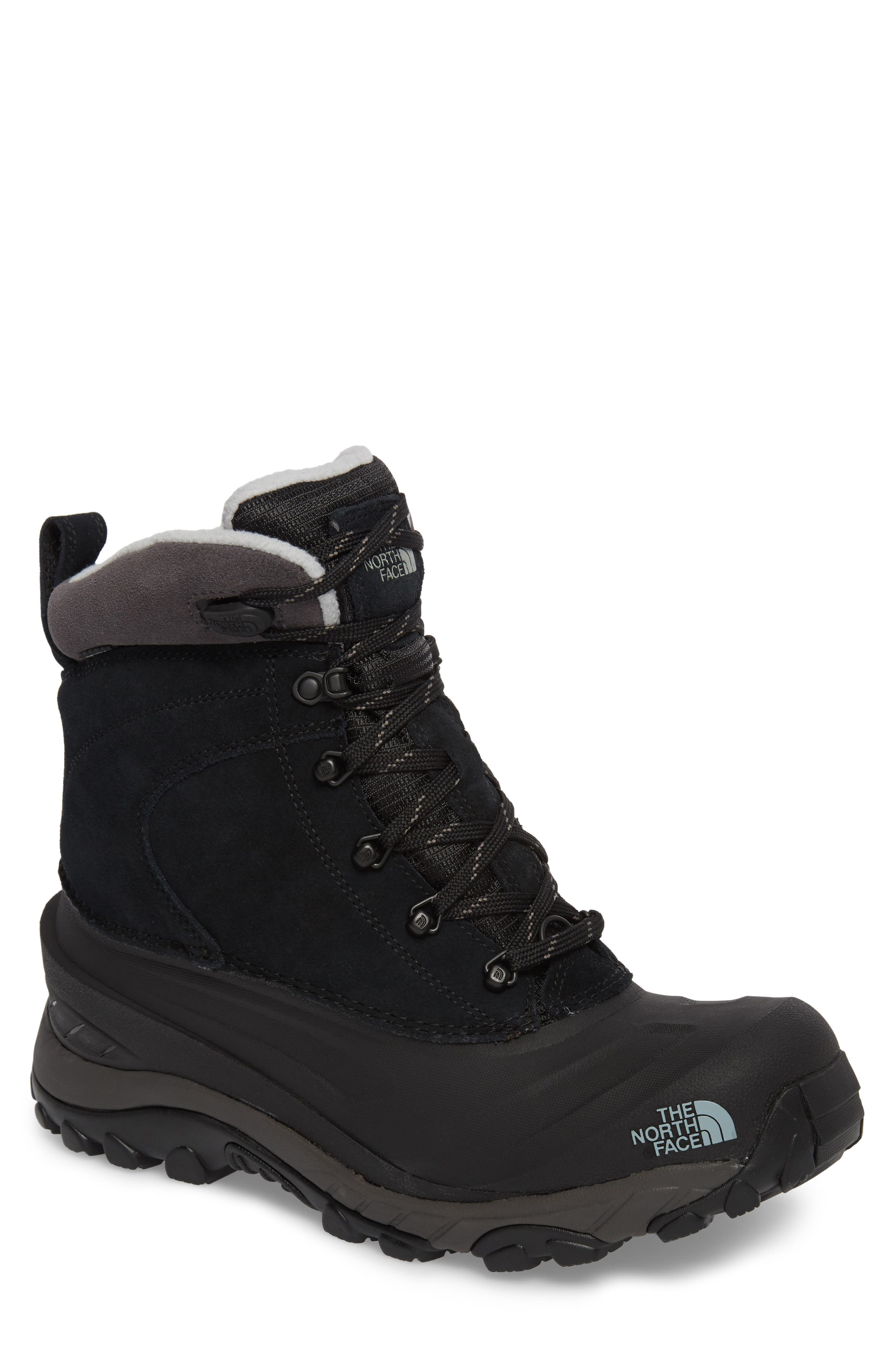 The North Face Chilkat Iii Waterproof Insulated Boot, Black