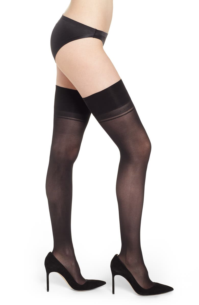 Dkny Pants OVER THE KNEE STAY-UP STOCKINGS