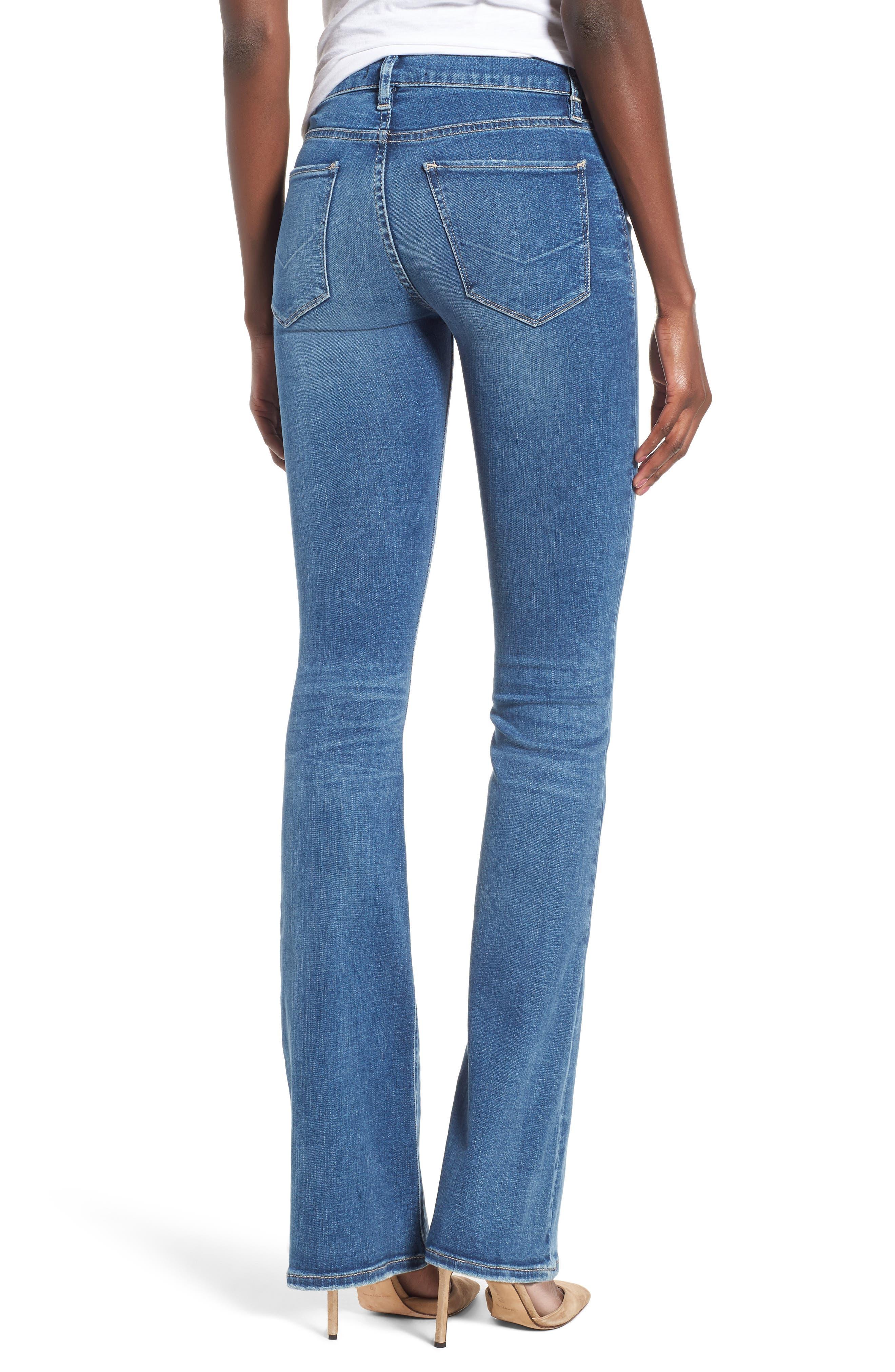 HUDSON JEANS, Drew Bootcut Jeans, Alternate thumbnail 2, color, AYON