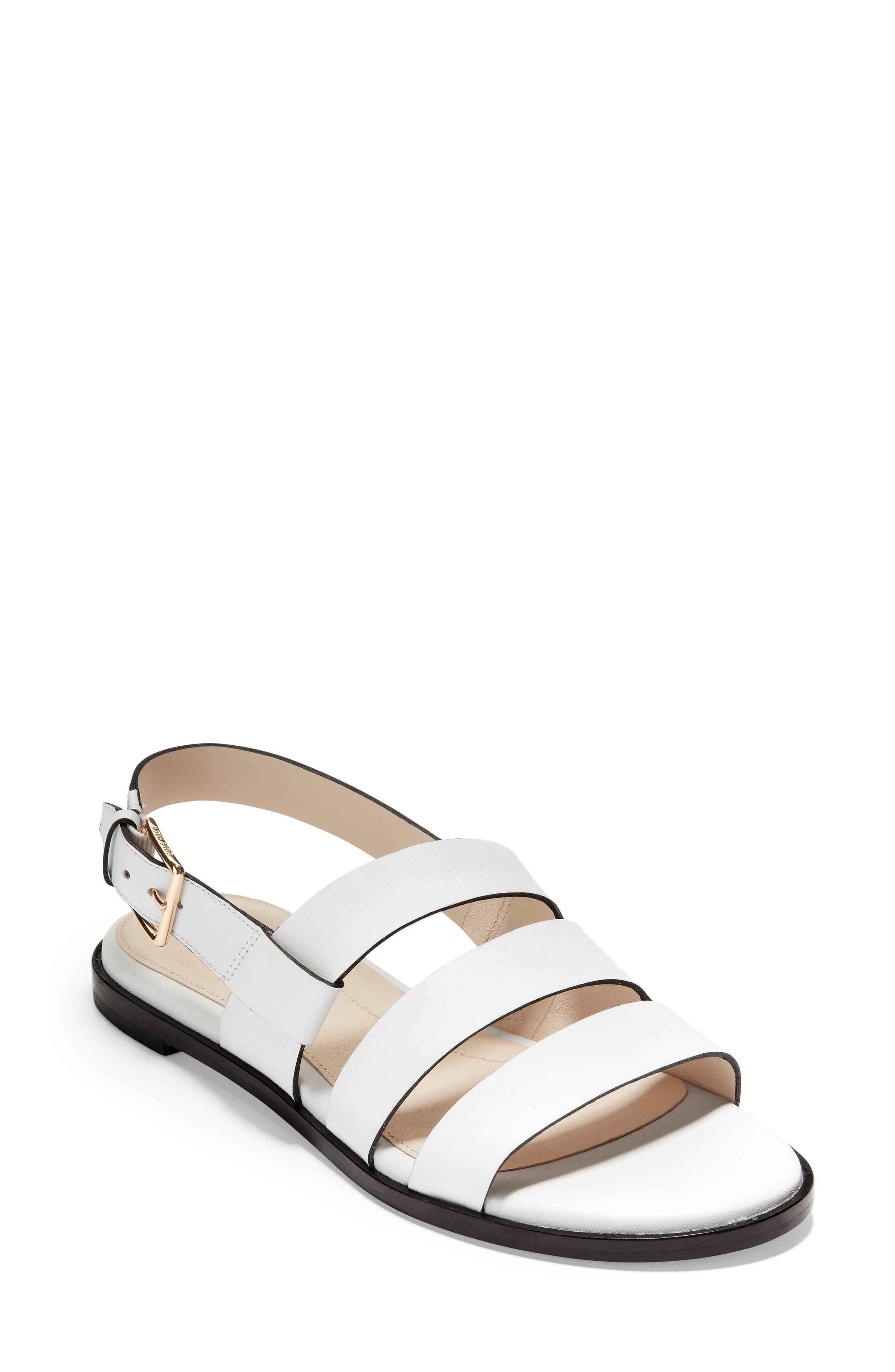 Cole Haan Anela Sandal B - White