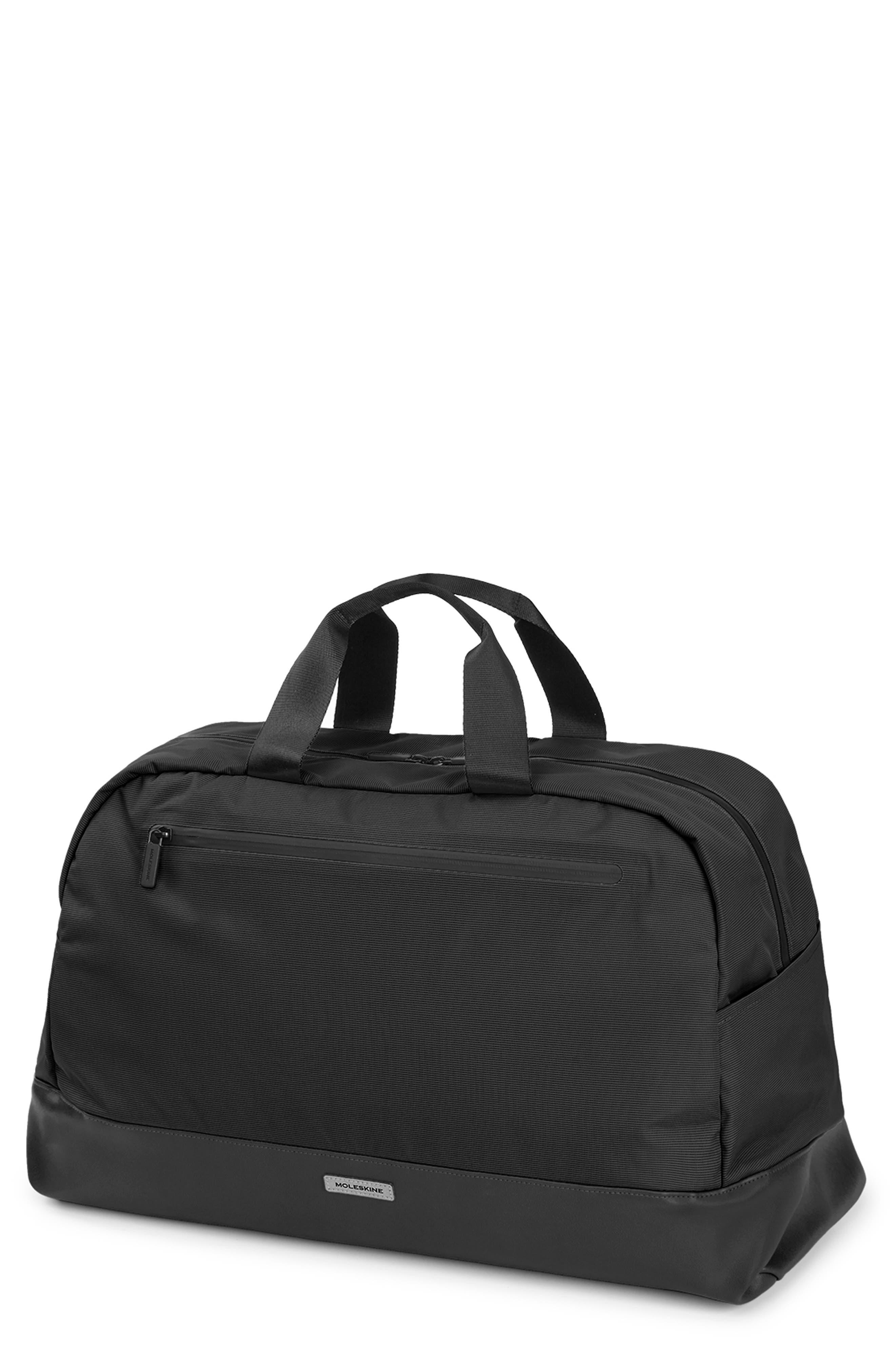 MOLESKINE, Moleskin Metro Duffle Bag, Main thumbnail 1, color, BLACK