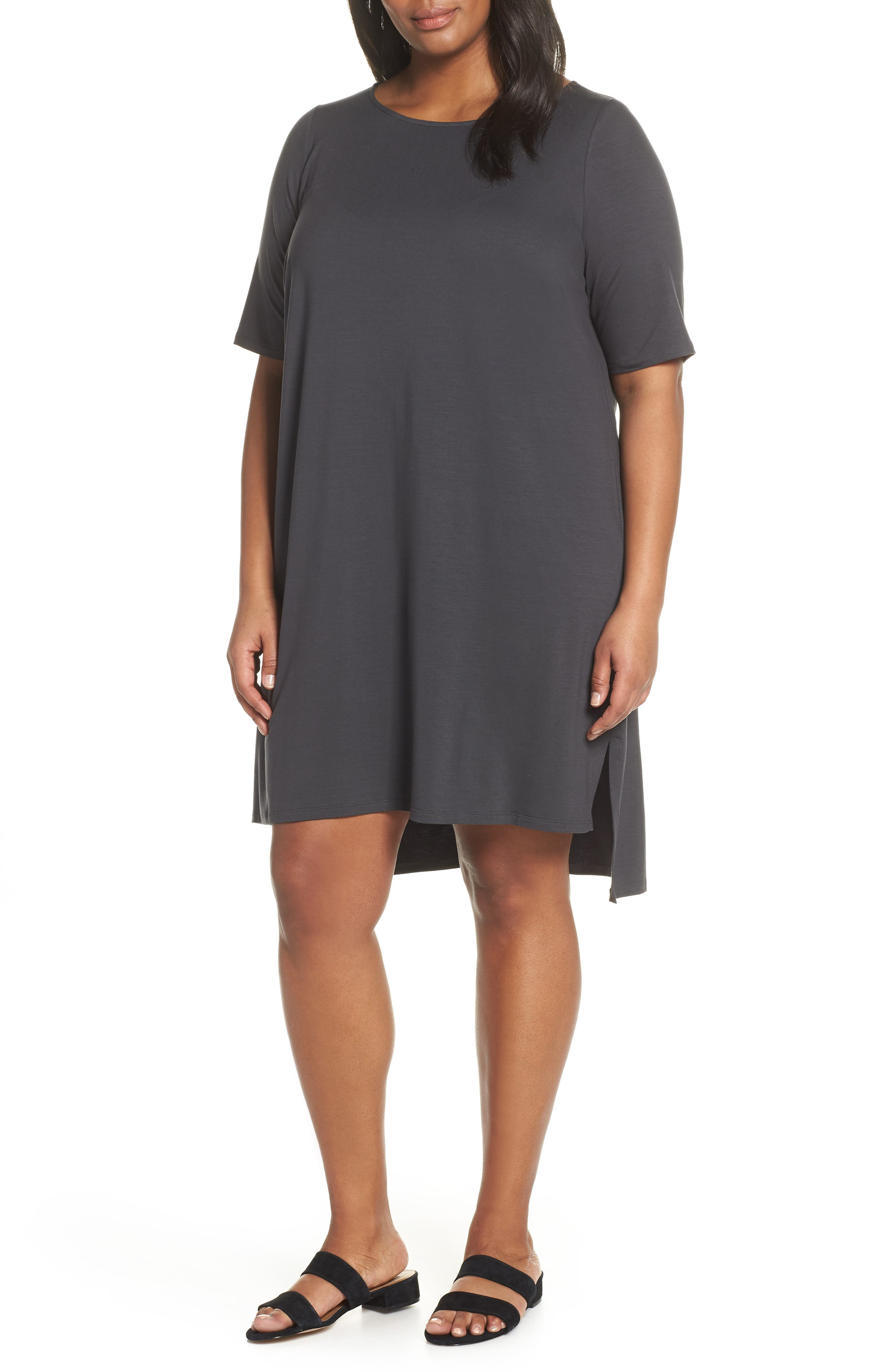 Plus Size Eileen Fisher Shift Dress