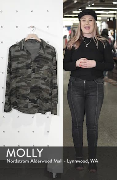 Steady Boyfriend Camo Shirt, sales video thumbnail