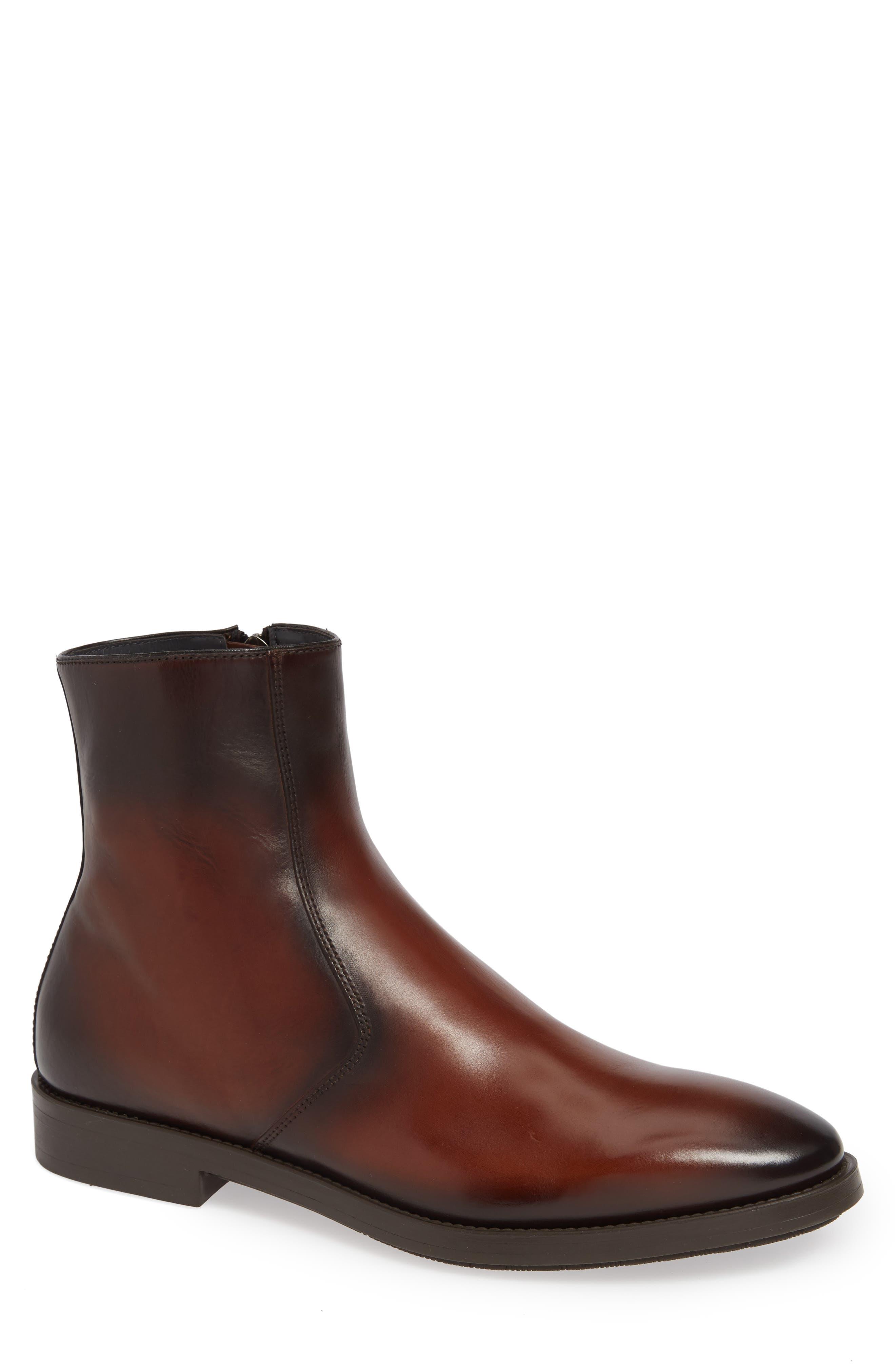 To Boot New York Rosemont Zip Boot, Brown