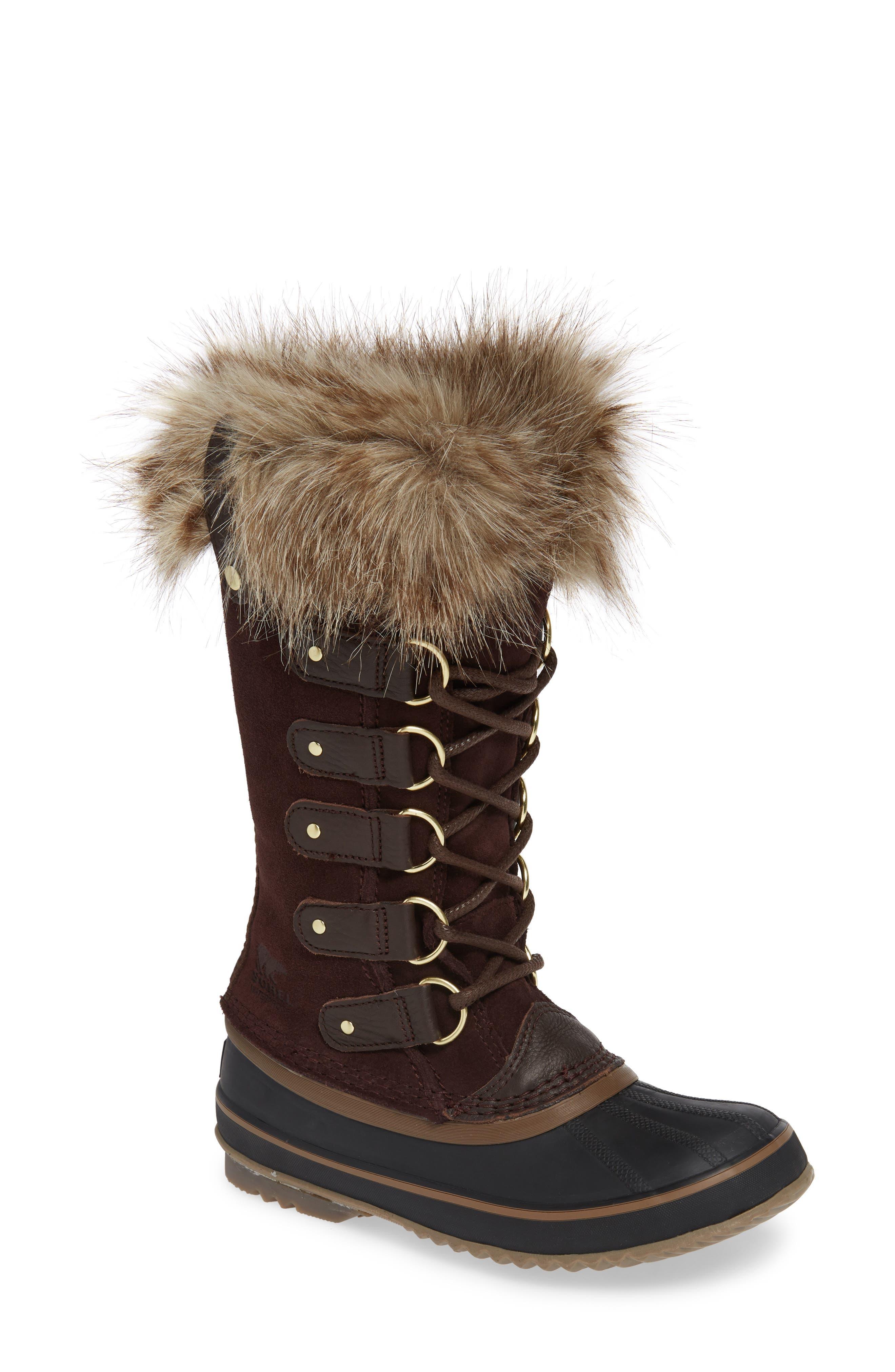 SOREL, 'Joan of Arctic' Waterproof Snow Boot, Main thumbnail 1, color, 201