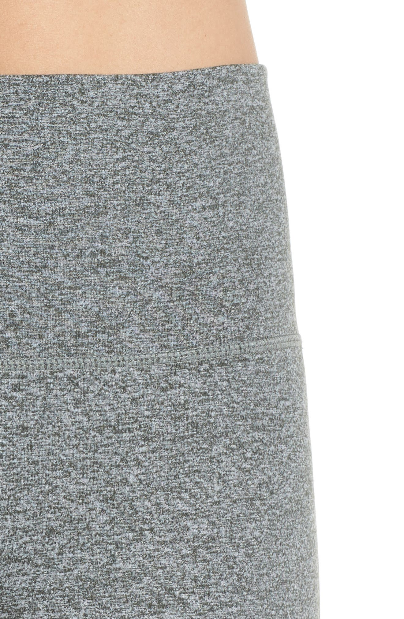 ZELLA, Ultrasoft Recycled High Waist Leggings, Alternate thumbnail 5, color, GREY URBAN