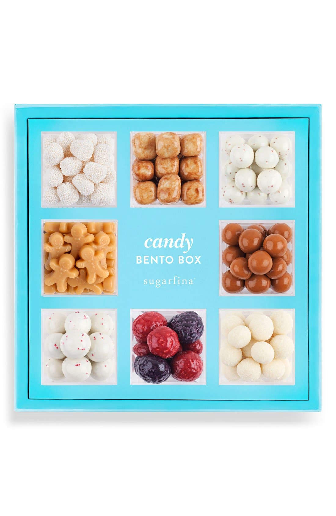 SUGARFINA Happy Holidays Candy Bento Box, Main, color, 100