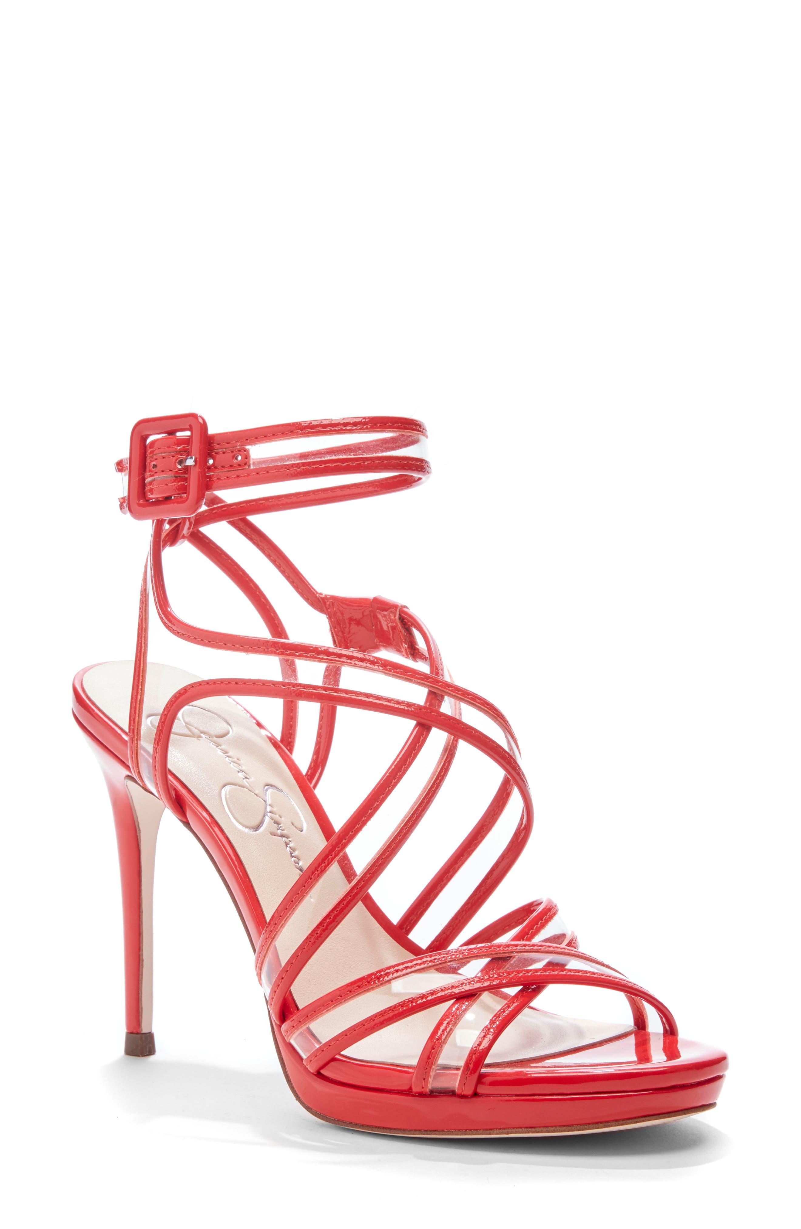 Jessica Simpson Kendele Sandal- Red