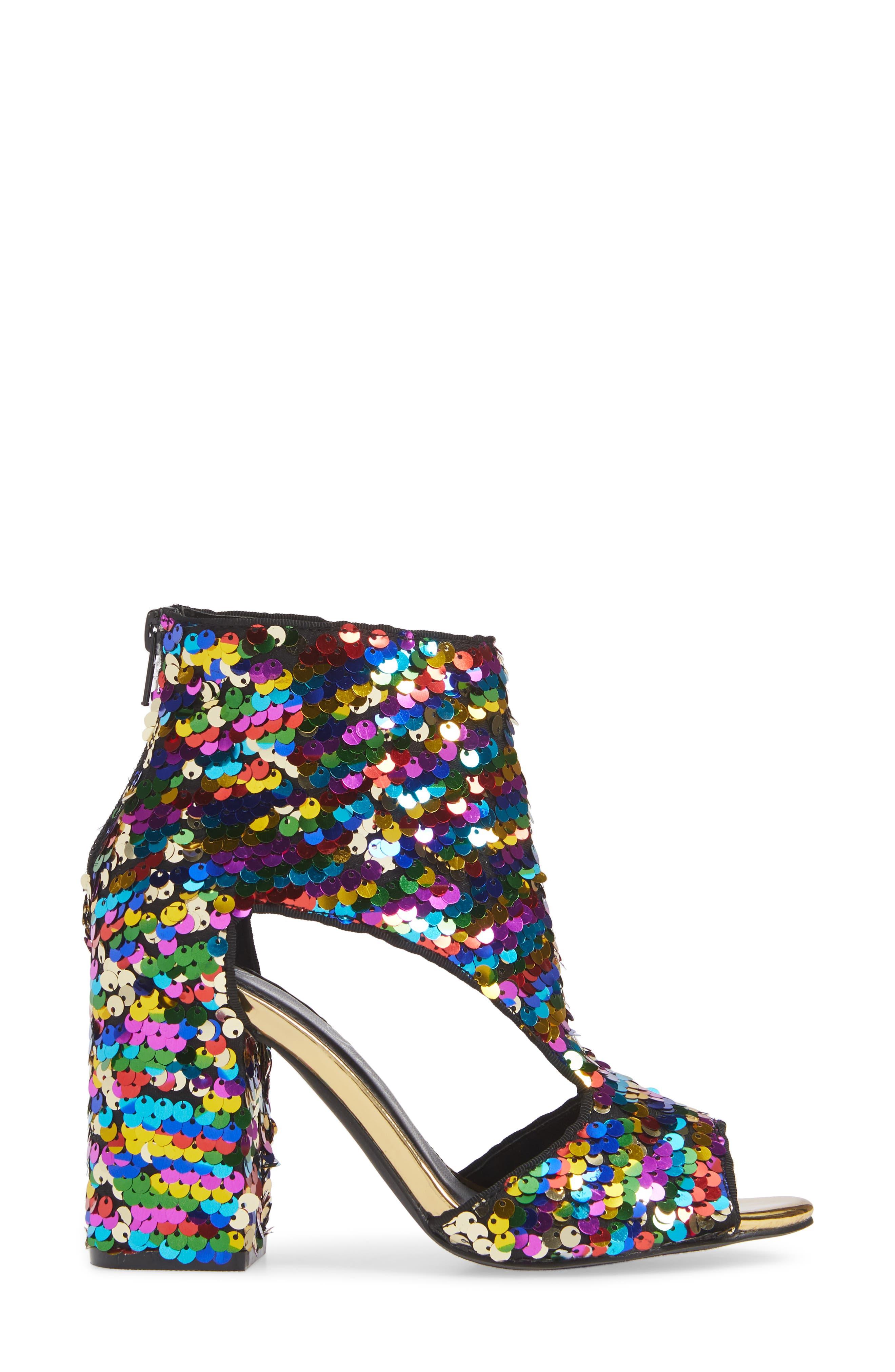 LAUREN LORRAINE, Roxy Sequin Sandal, Alternate thumbnail 4, color, 710