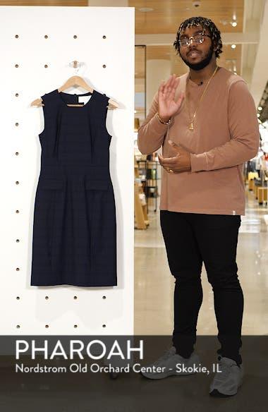 Docanes Modern Check Wool Dress, sales video thumbnail