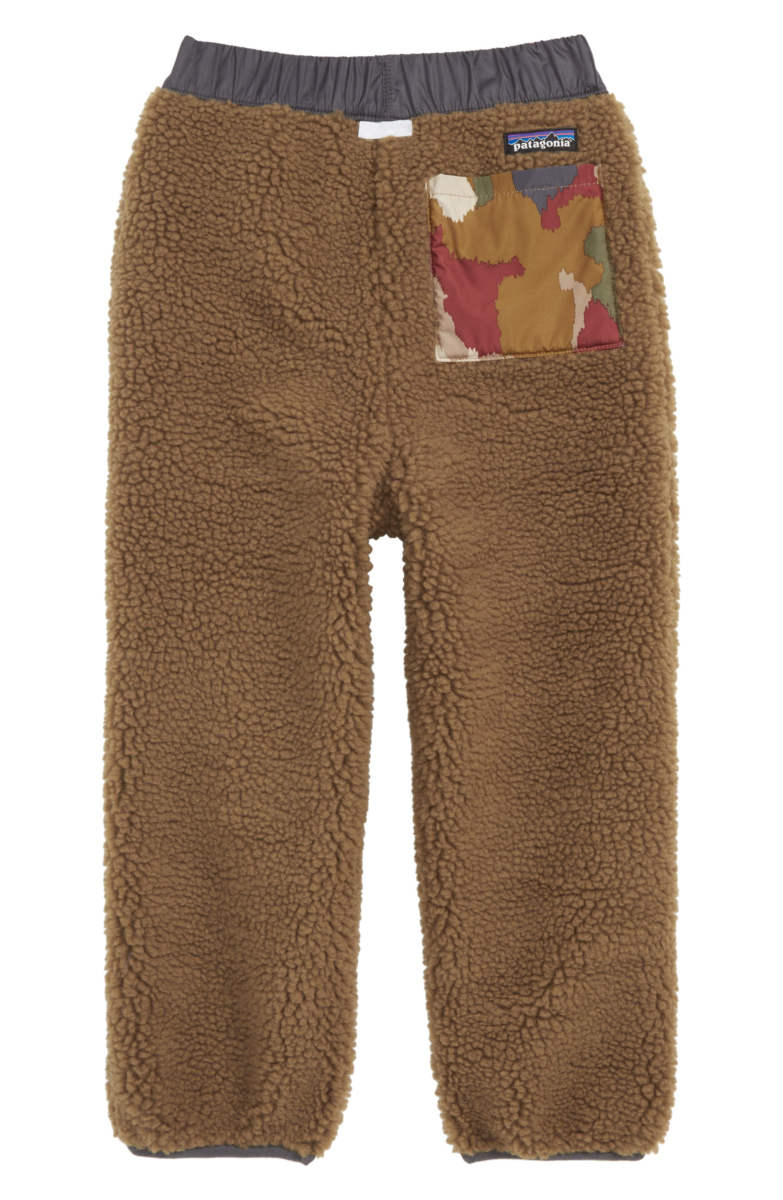 PATAGONIA, Tribbles Reversible Water Repellent Snow Pants, Alternate thumbnail 2, color, 200