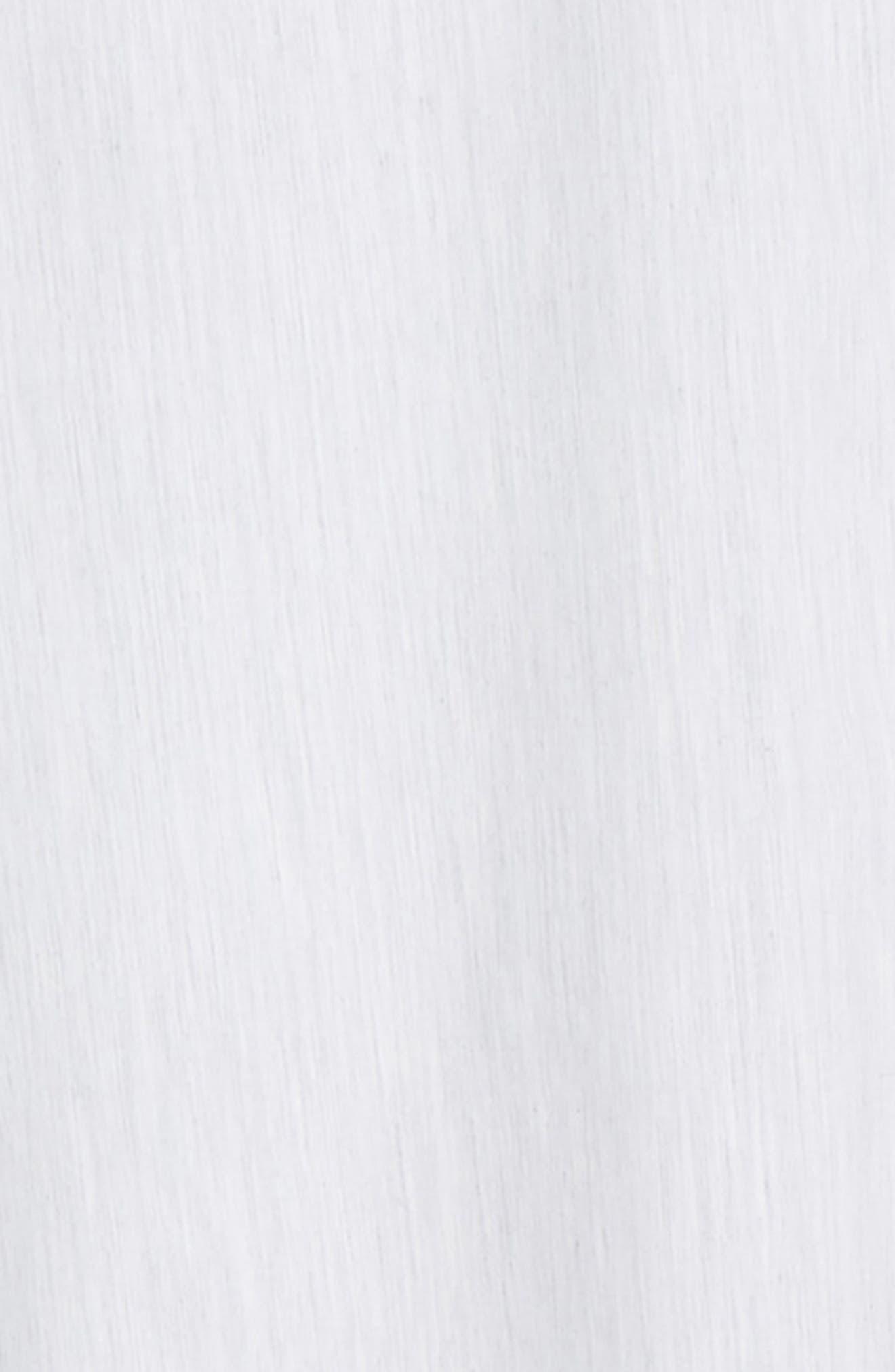 ZACHARY PRELL, Baumann Regular Fit Sport Shirt, Alternate thumbnail 6, color, GREY