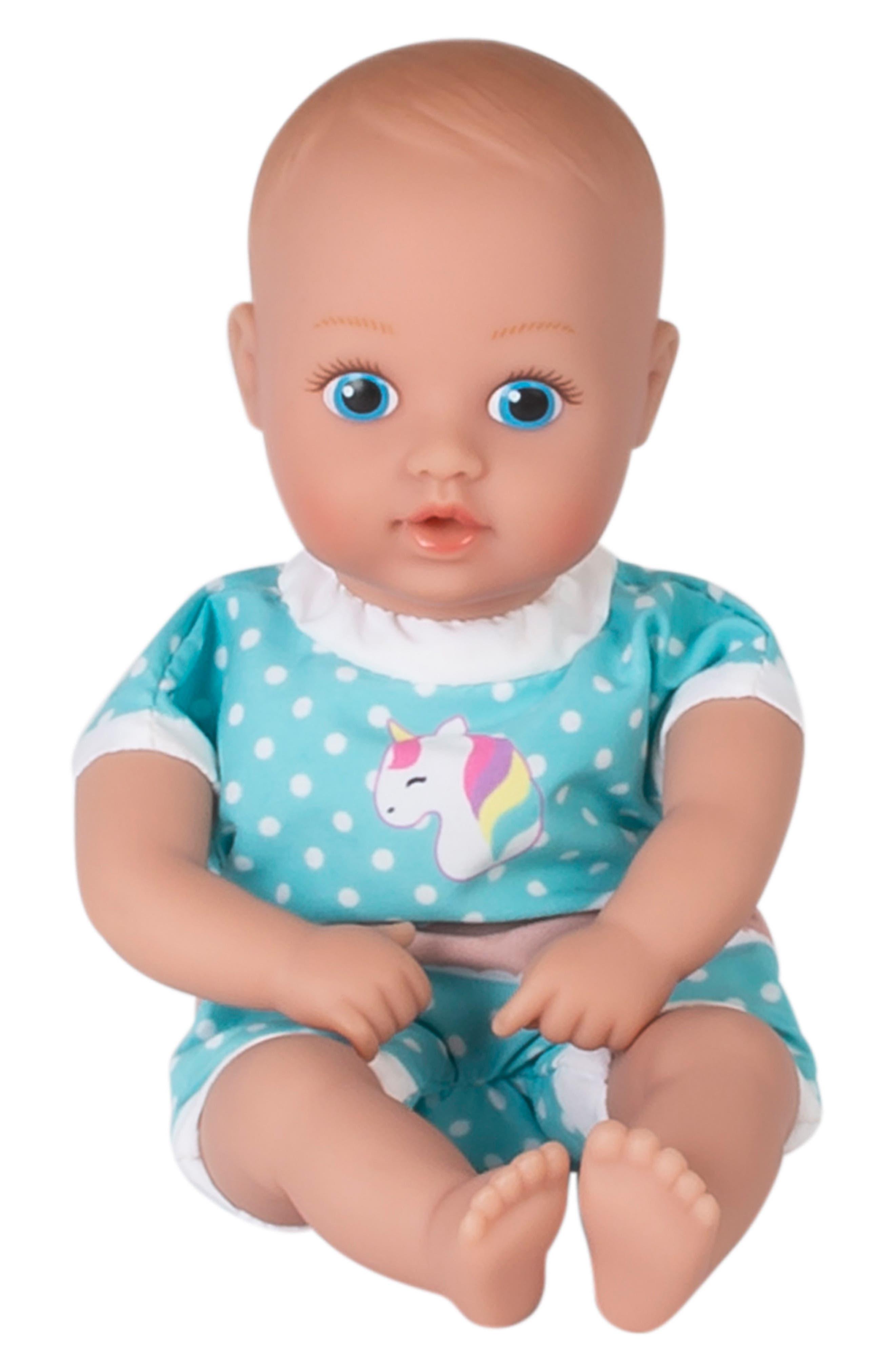 ADORA, Magical Unicorn Splashtime Baby Doll, Alternate thumbnail 5, color, WHITE