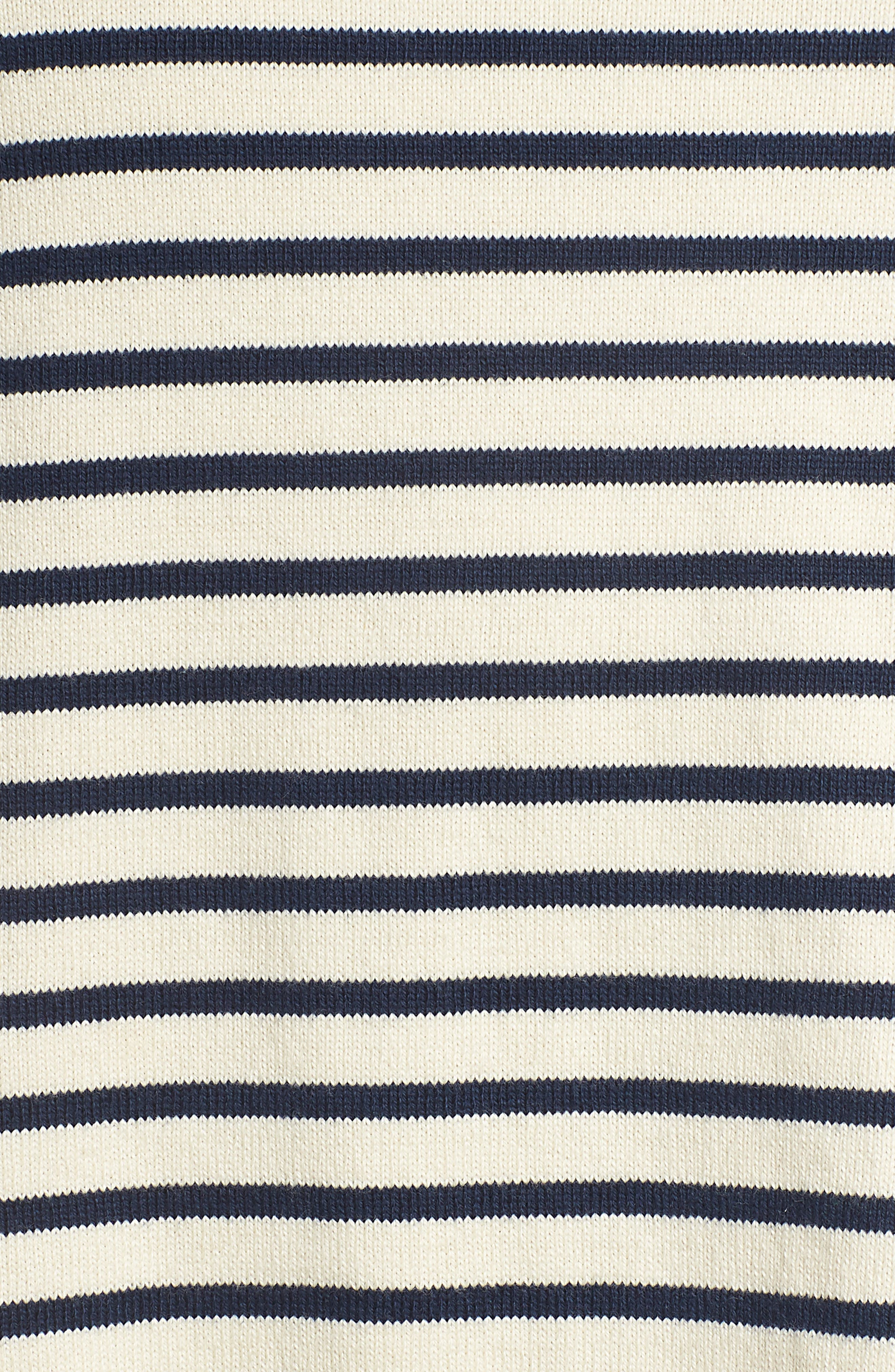 EILEEN FISHER, Seaside Stripe Bateau Neck Tunic, Alternate thumbnail 5, color, 103