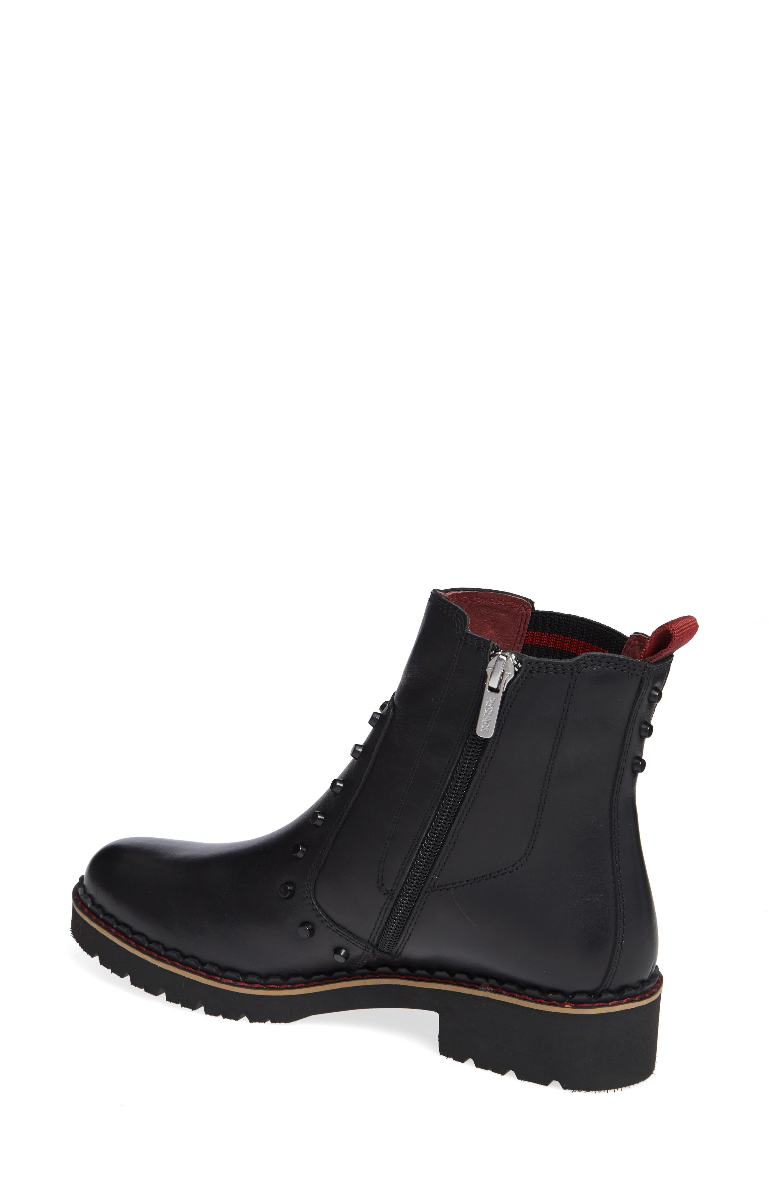PIKOLINOS, Vicar Boot, Alternate thumbnail 2, color, BLACK LEATHER
