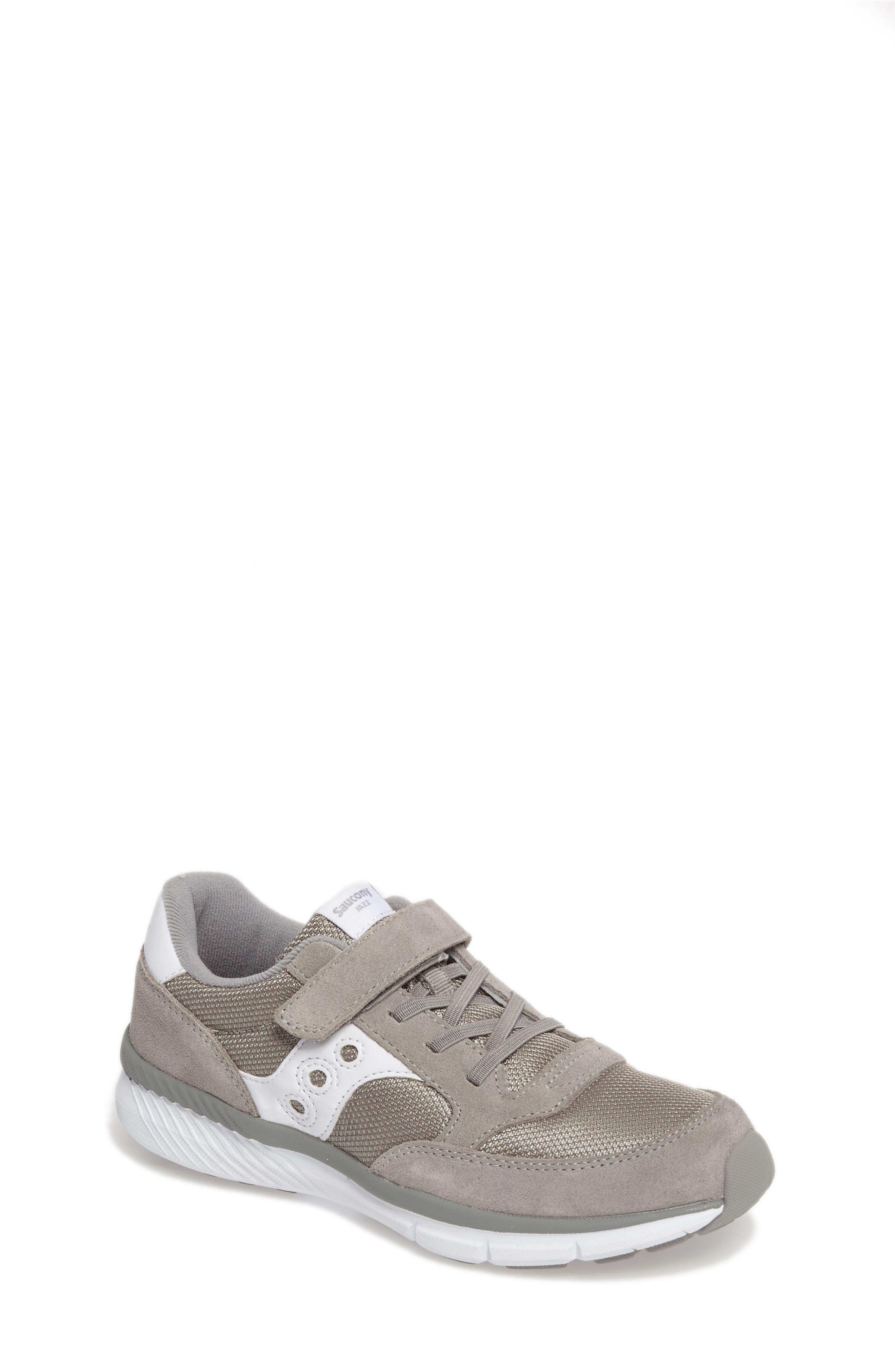 SAUCONY Jazz Lite Sneaker, Main, color, GREY/ WHITE