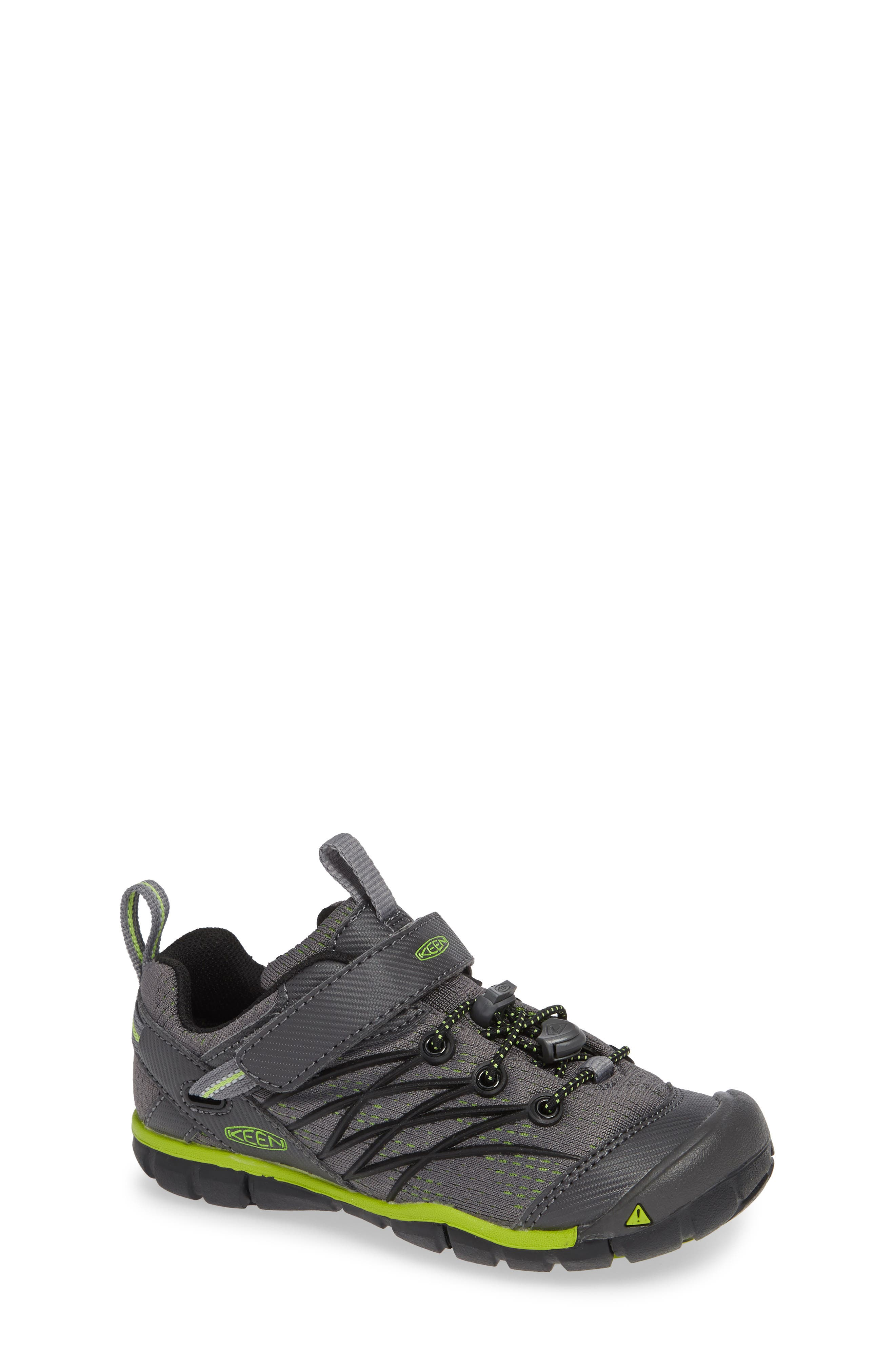 KEEN 'Chandler CNX' Water Repellent Sneaker, Main, color, MAGNET/ GREENERY