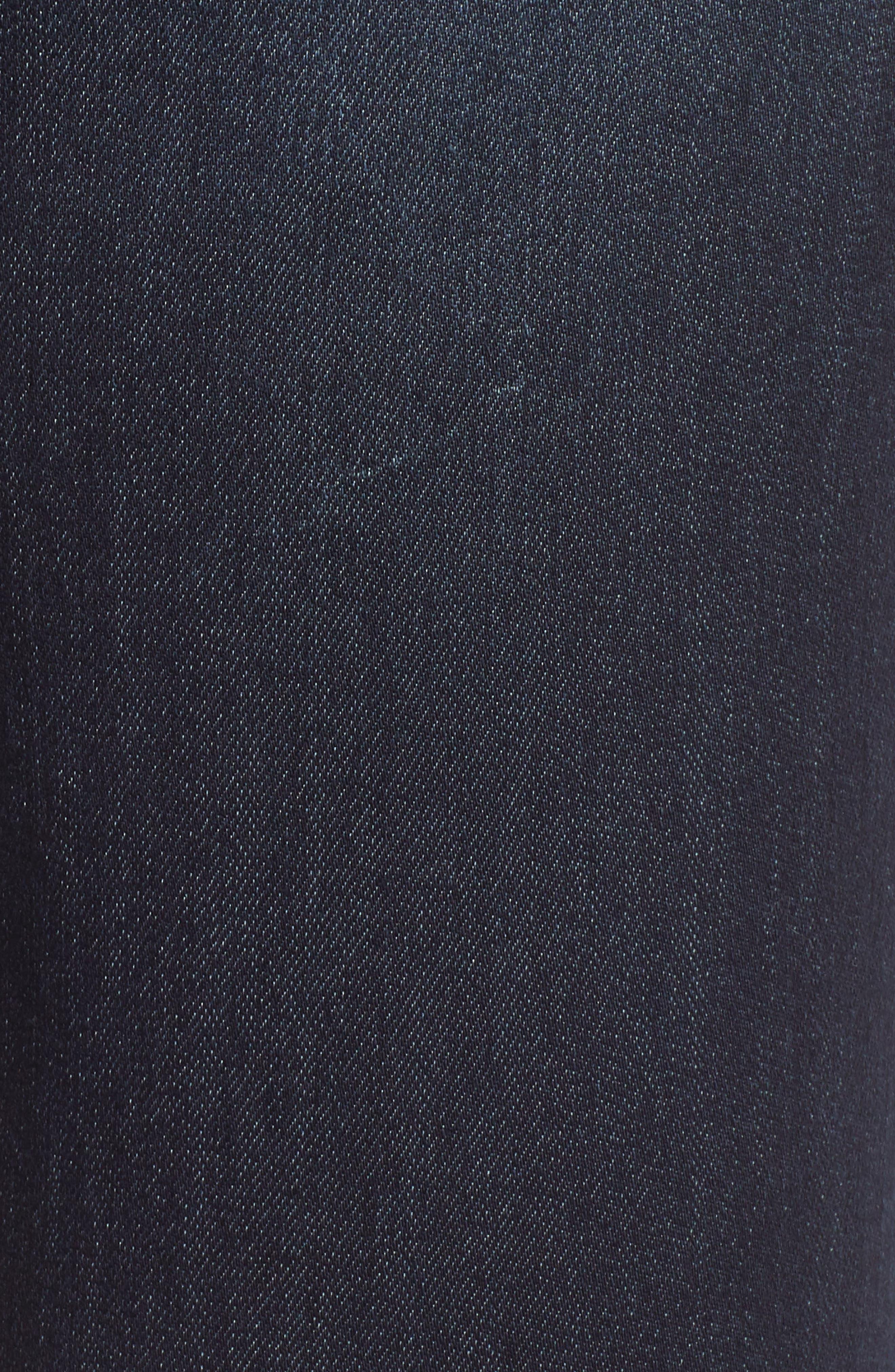 WIT & WISDOM, Ab-Solution Ankle Skimmer Jeans, Alternate thumbnail 6, color, INDIGO
